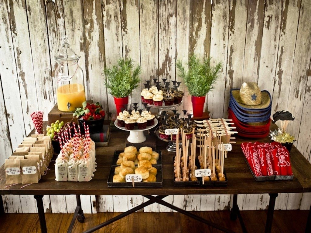 sweetlooking party ideas for adults at home western birthday - home
