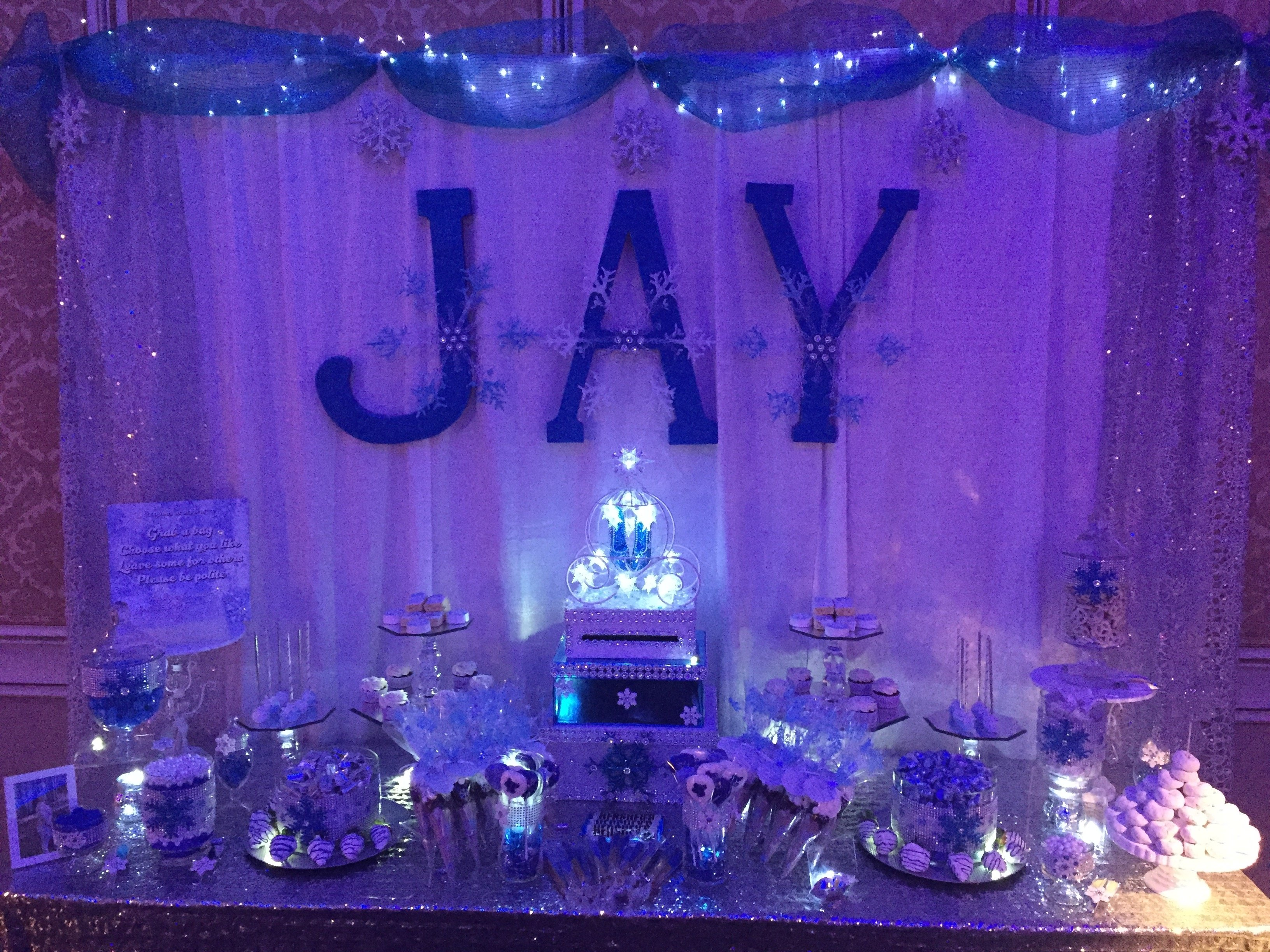 10 Cute Sweet 16 Ideas For Winter sweets table winter wonderland sweet 16 winter wonderland sweet 1 2020