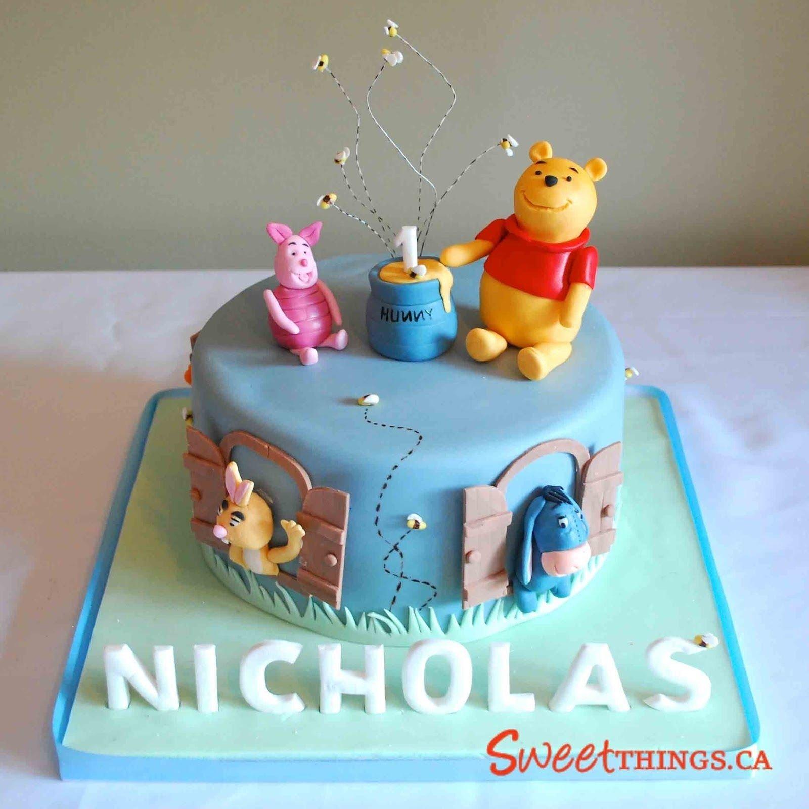10 Fantastic Winnie The Pooh Cake Ideas sweetthings winnie the pooh cake party ideas pinterest 2020