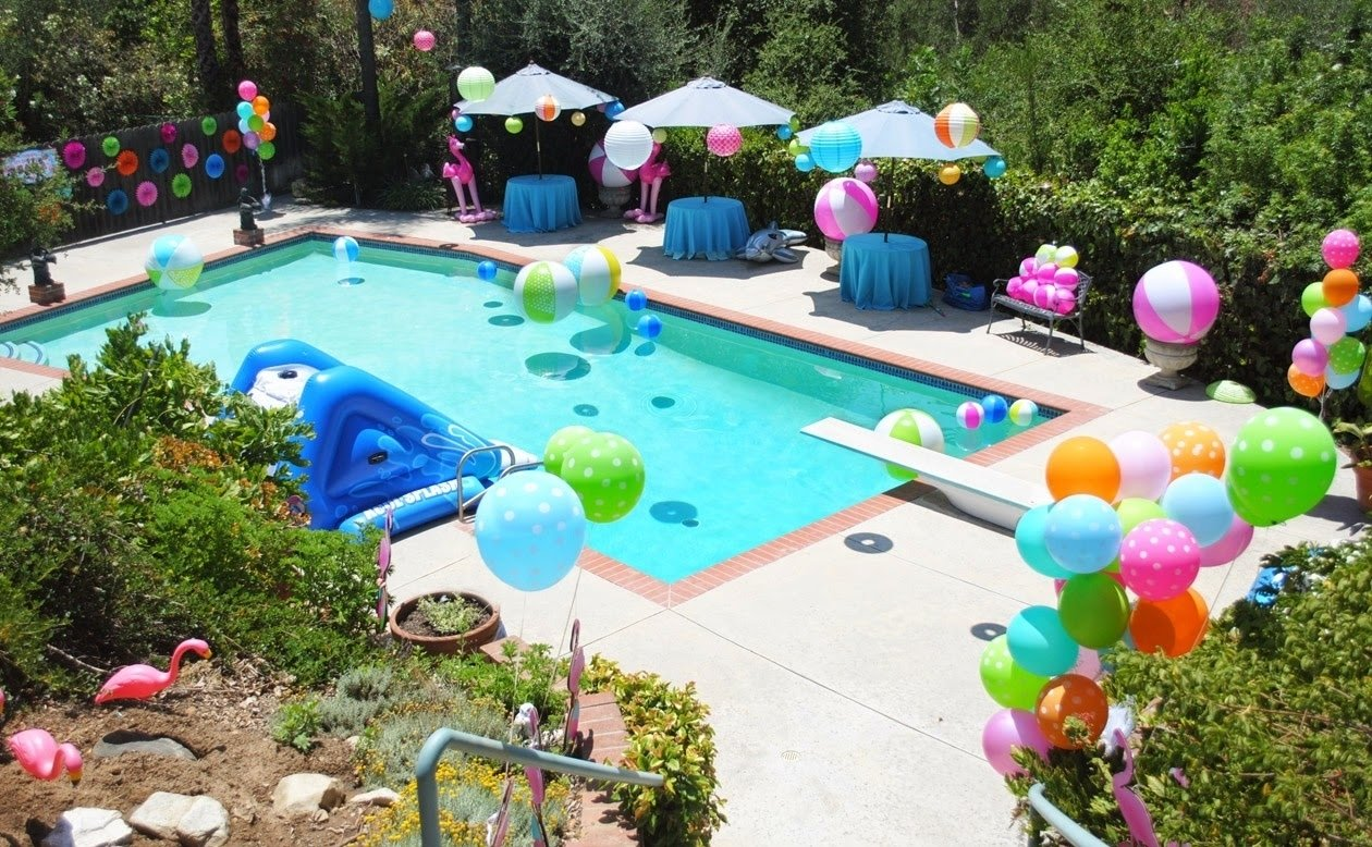 10 Great Ideas For A Pool Party swimming pool birthday party ideas e280a2 swimming pools 2020
