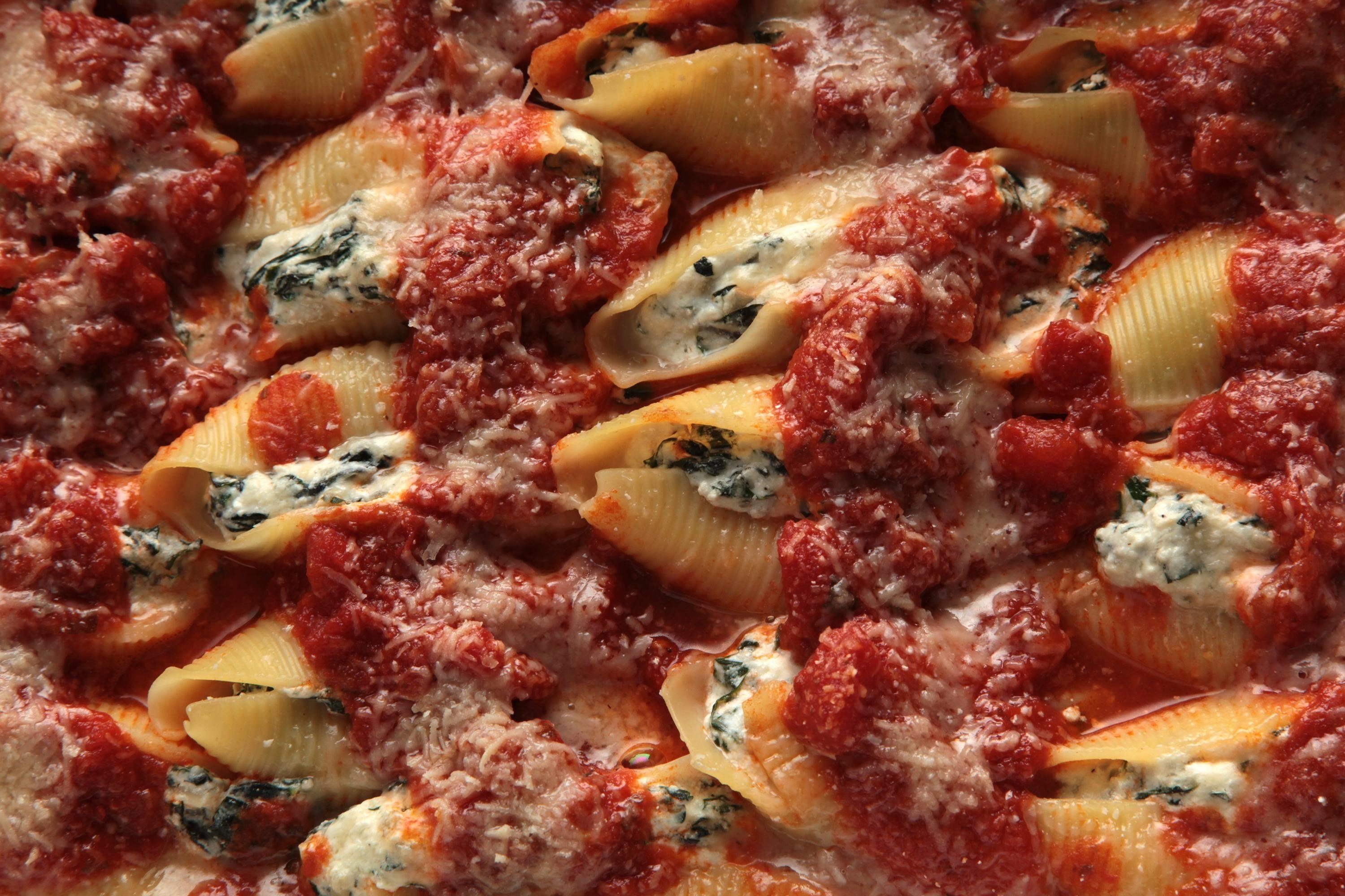 10 Most Popular Easy Christmas Eve Dinner Ideas swiss chard stuffed shells recipe chowhound 1