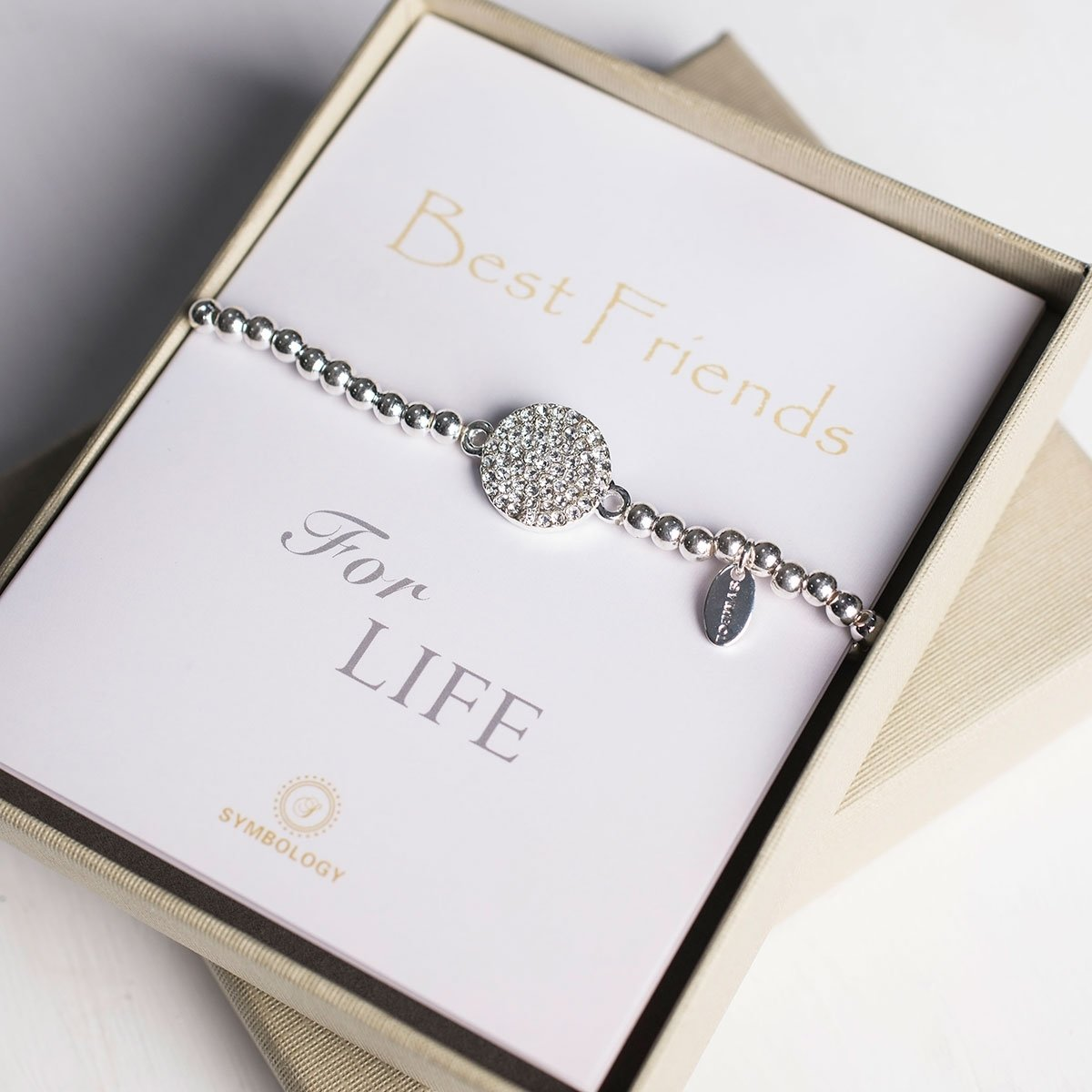 10 Fashionable 40Th Birthday Gift Ideas For Best Friend Symbology Friends Bracelet Gettingpersonal Co Uk