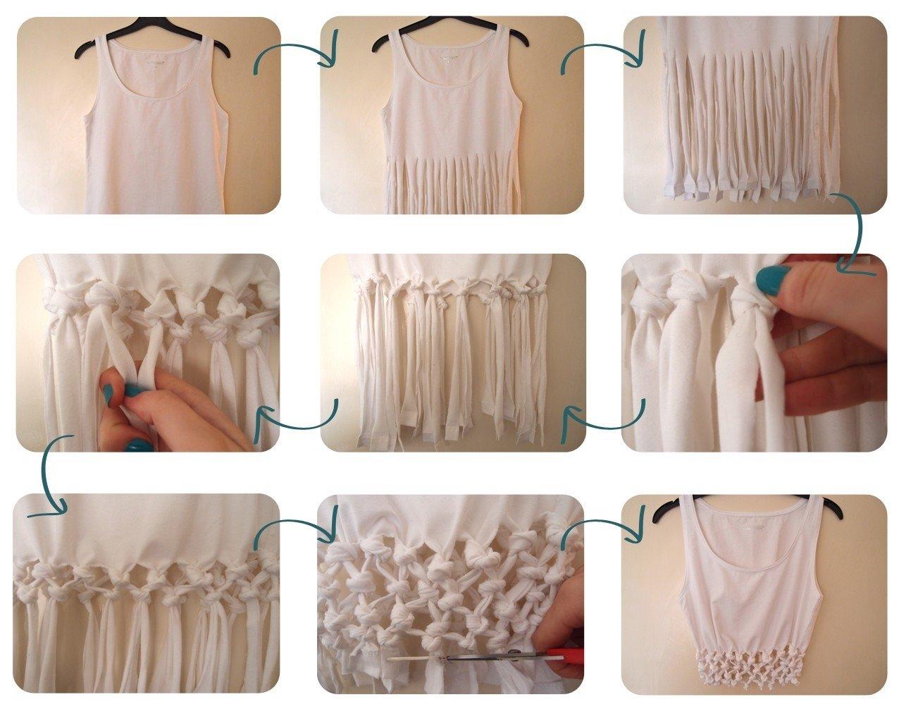 10 Attractive Cool T Shirt Cutting Ideas t shirt cutting designs ideas diy shirt diy clothes pinterest 2021