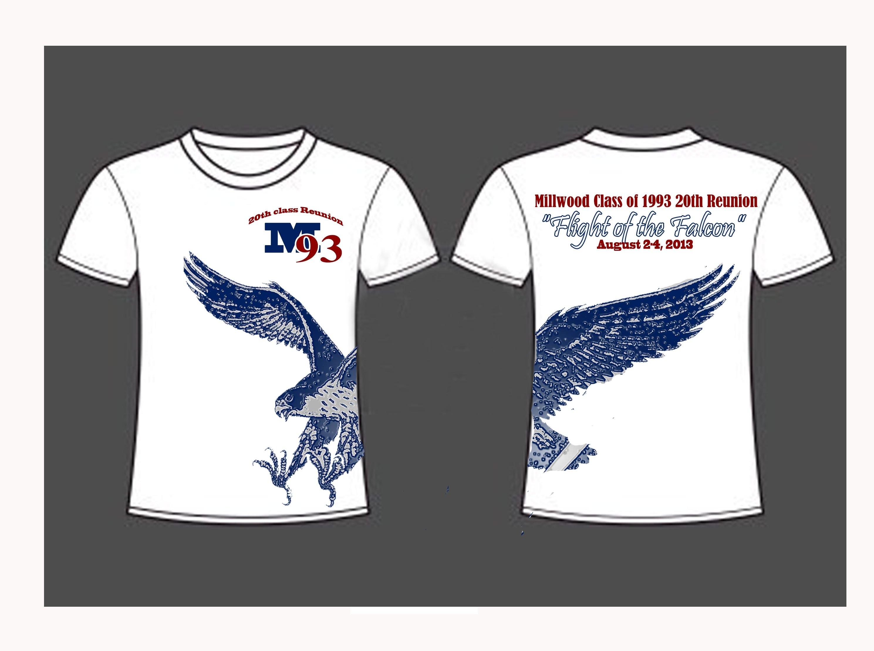 Sample T Shirt Design For High School Reunion Bcd Tofu House