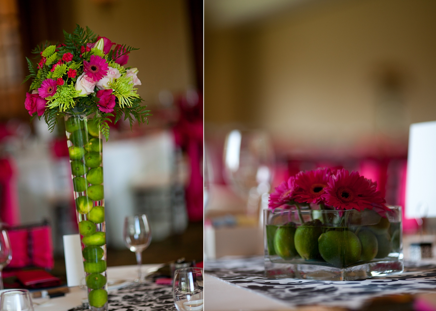 10 Awesome Pink And Green Wedding Ideas table arrangements for wedding reception wedding centerpieces 2020