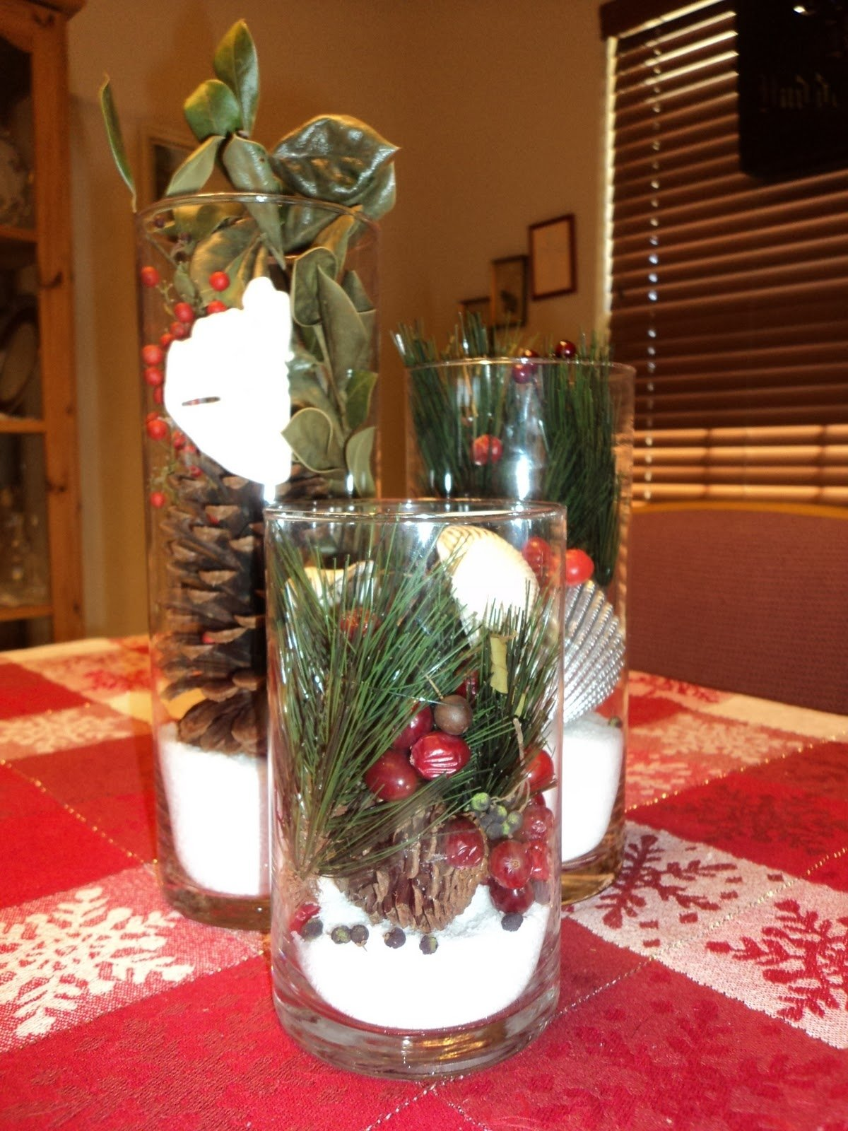 table christmas decorations decoration ideas club dhayzonenet