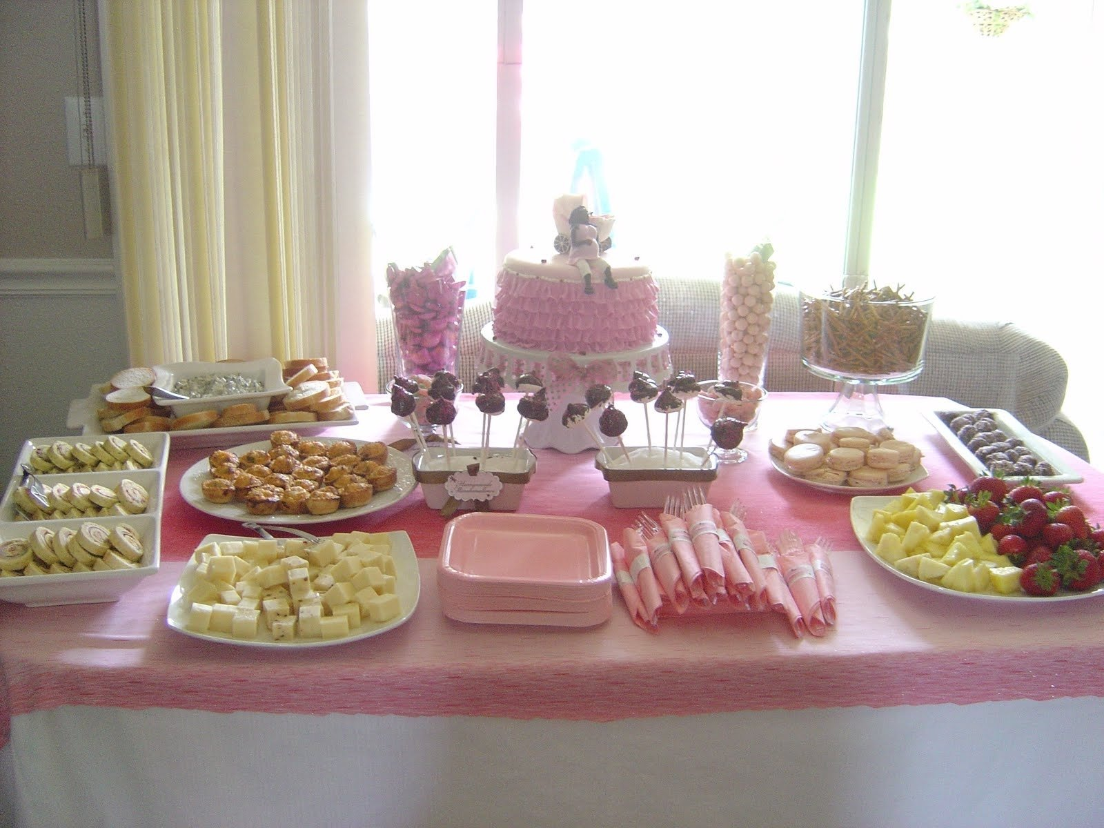 10 Perfect Baby Shower Food Ideas Pinterest table setup for a baby shower saturday june 05 2010 baby 2021