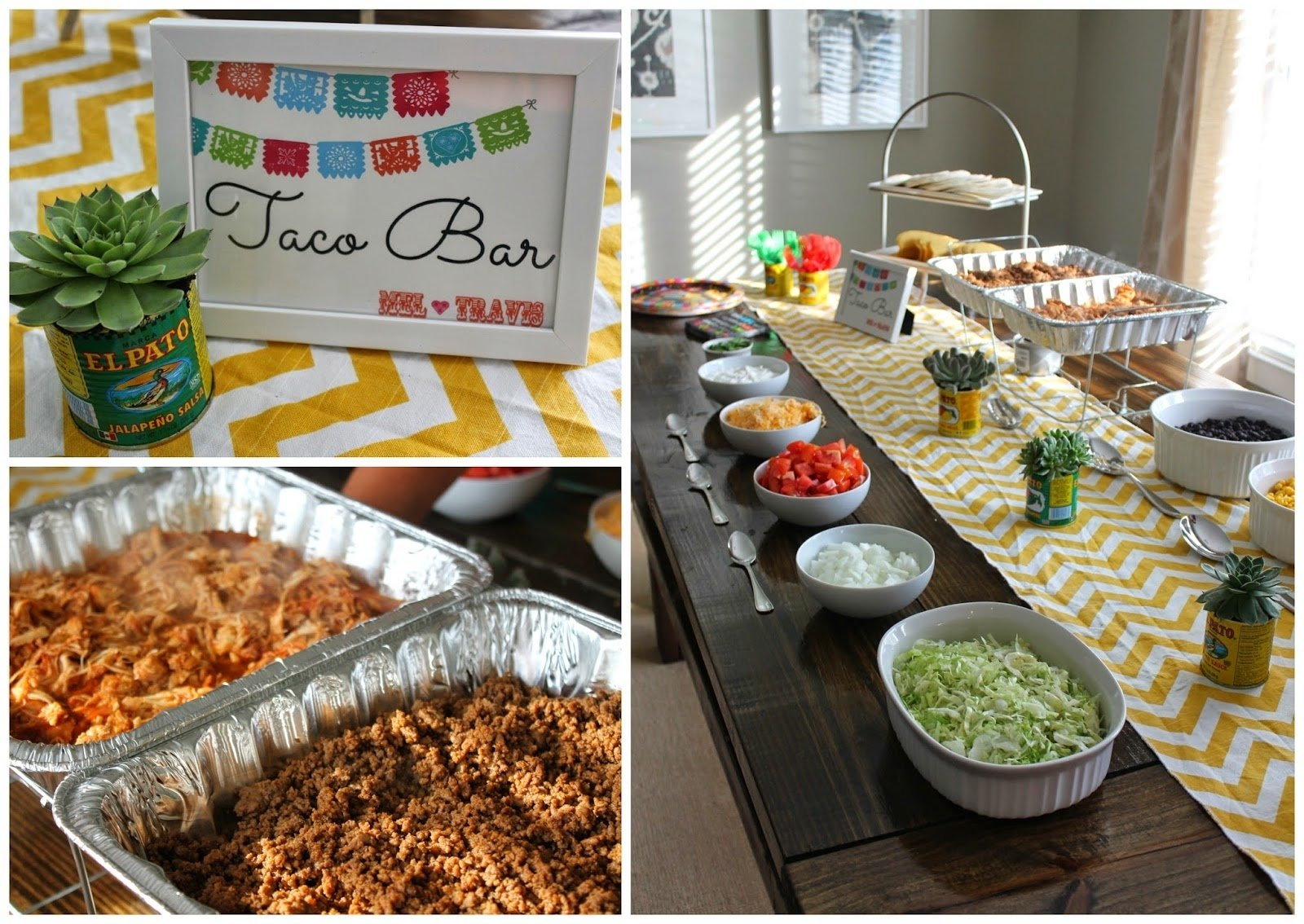 taco bar ideas for party : festive taco bar ideas for any parties