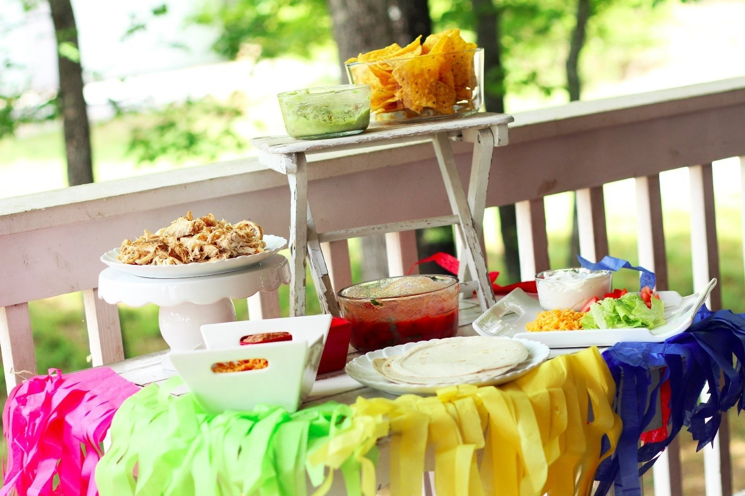10 Gorgeous Taco Bar Ideas For Party taco bar party ideas southern couture 2021