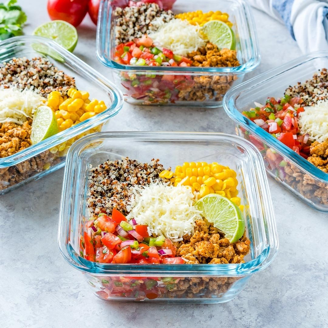 10 Pretty Clean Eating Meal Prep Ideas taco mealprep energy bowls are clean eating approved clean food 2020