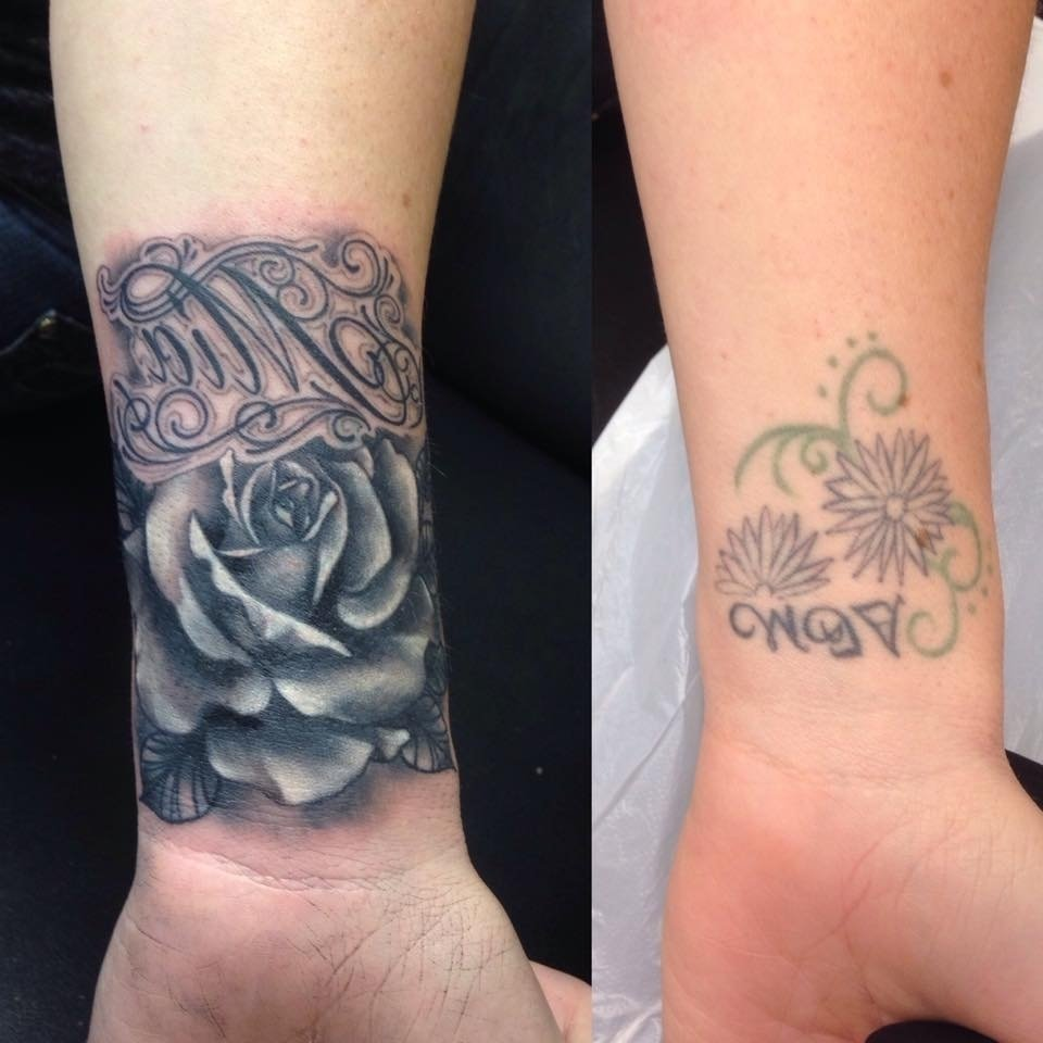 tag: wrist tattoo cover up ideas for work - best tattoo design