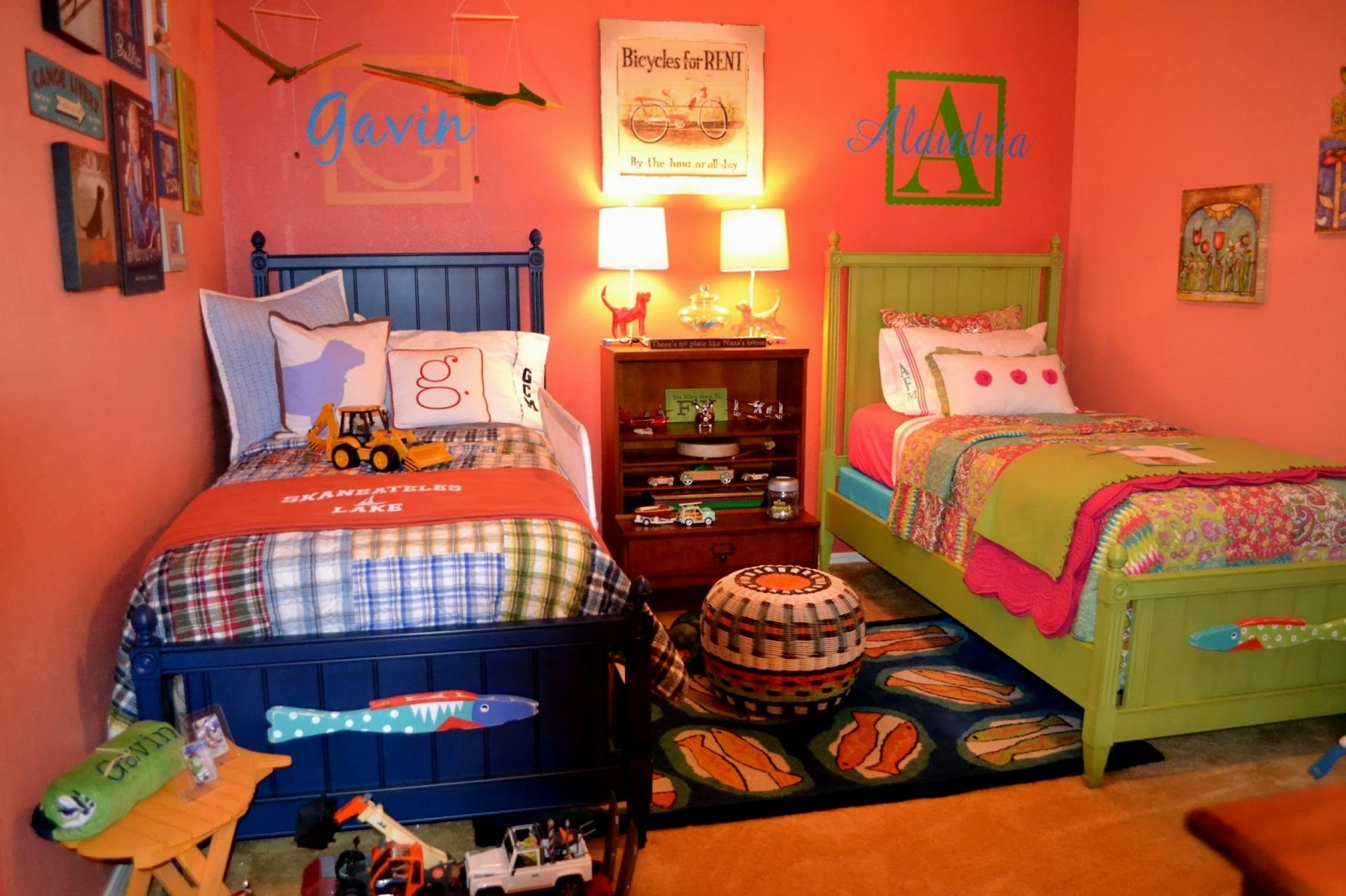 tagged twin boy and girl room decorating ideas archives home ~ idolza