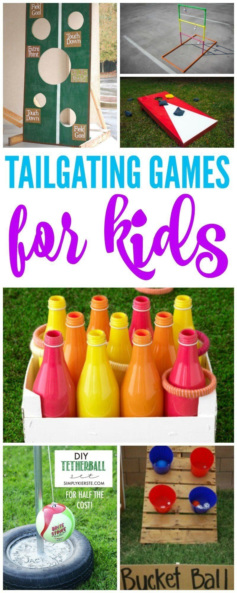 10 Stylish Football Party Ideas For Kids tailgate games for kids in the yard before the game activities 2021