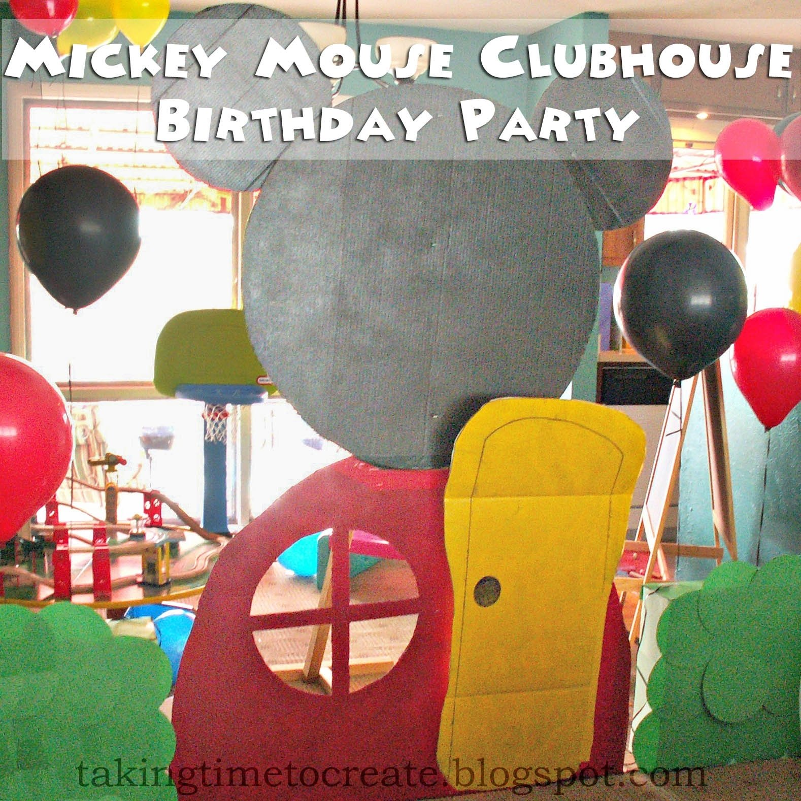 10 Attractive Mickey Mouse Clubhouse Decoration Ideas taking time to create mickey mouse clubhouse birthday party lots 1 2020