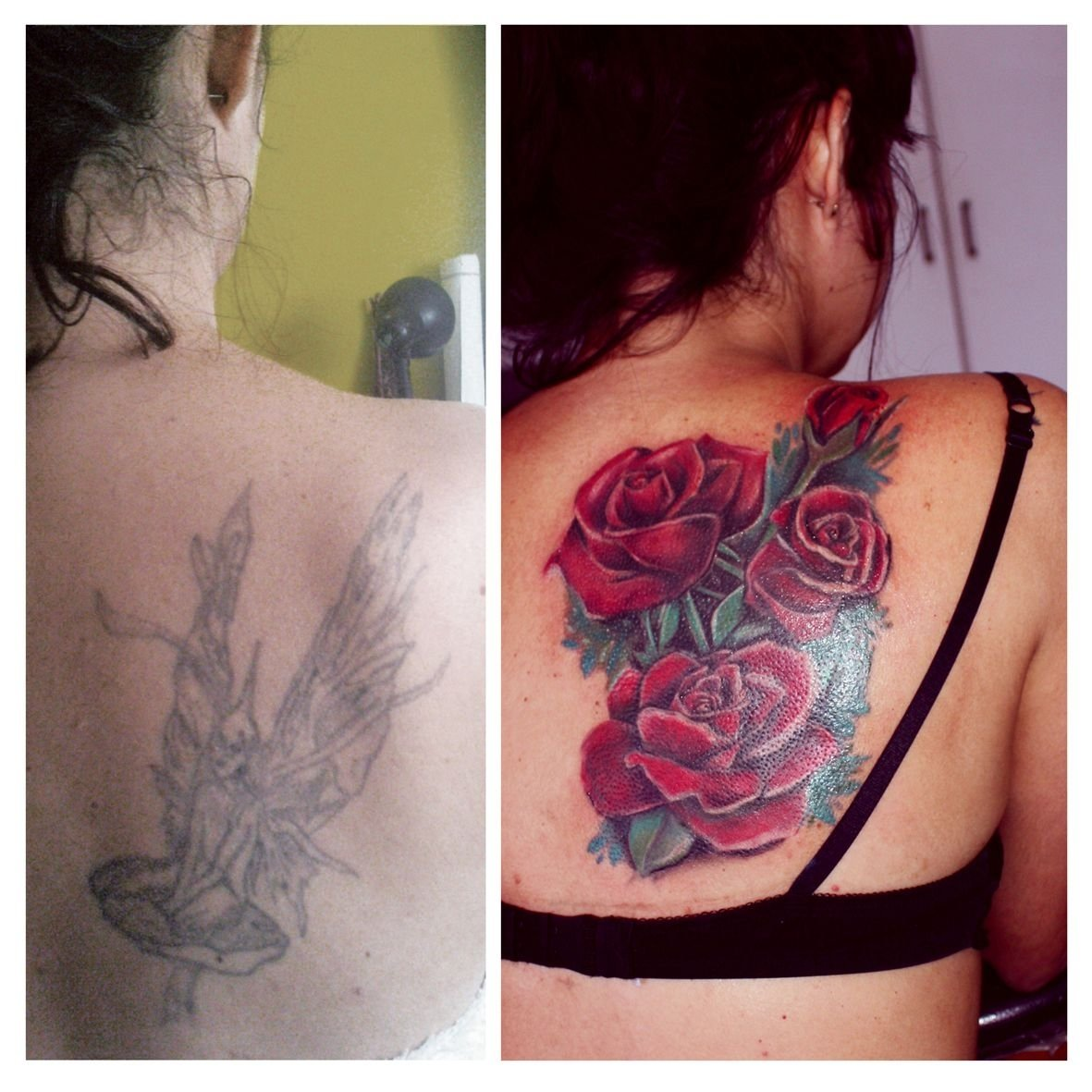 10 Awesome Tattoo Cover Up Ideas For Women tattoo cover up red roses tattoo ideas pinterest tattoo 2021