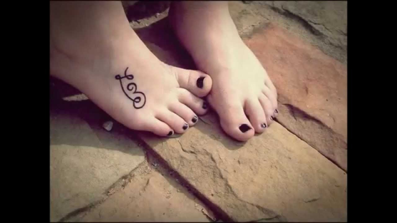 10 Perfect Tattoo Ideas For The Foot tattoo designs foot youtube 2021