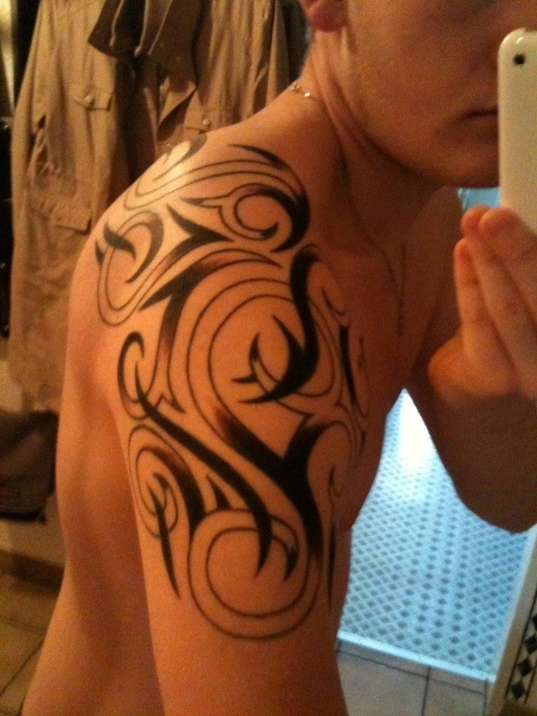 tattoo designs for men shoulder - best tattoo design