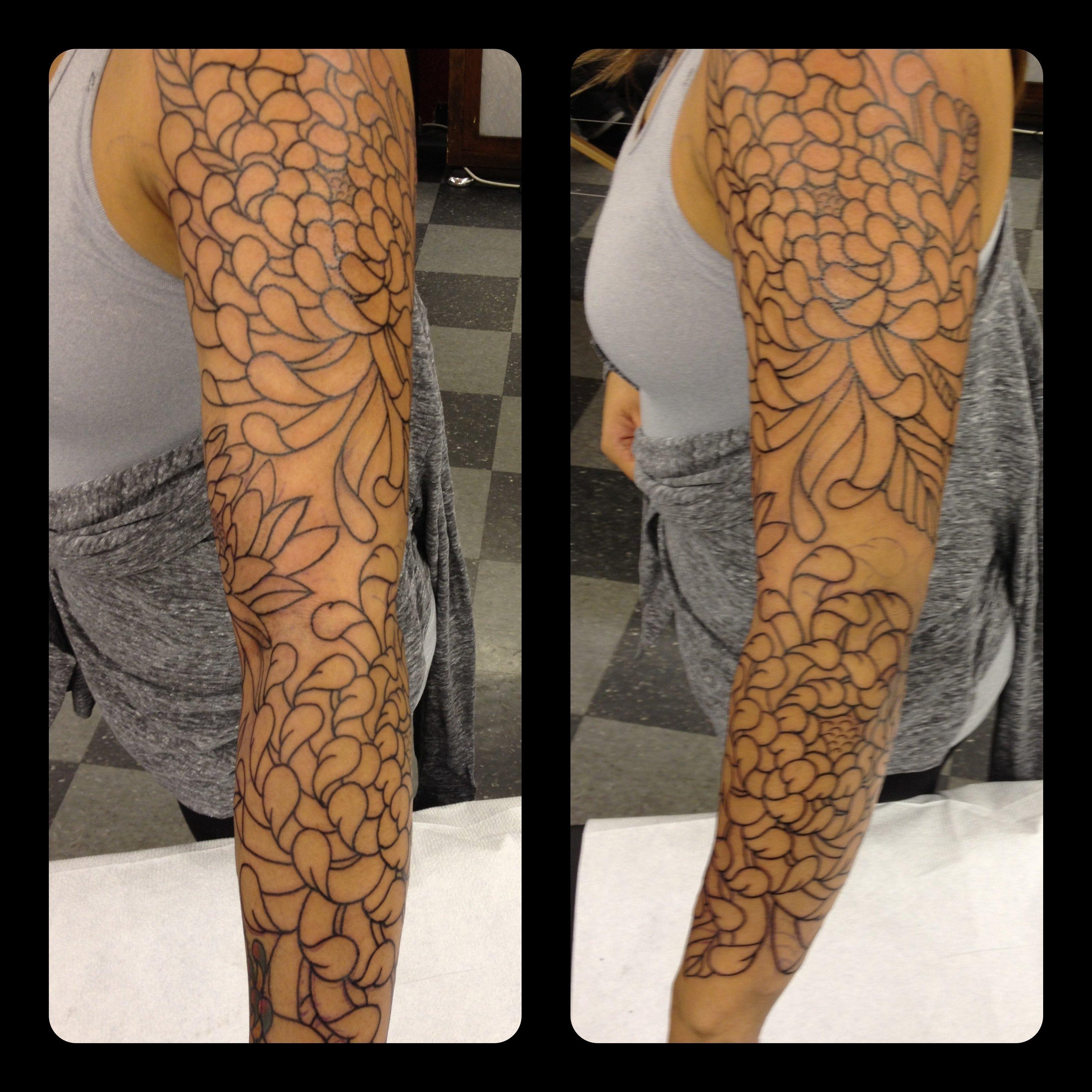 tattoo sleeve filler