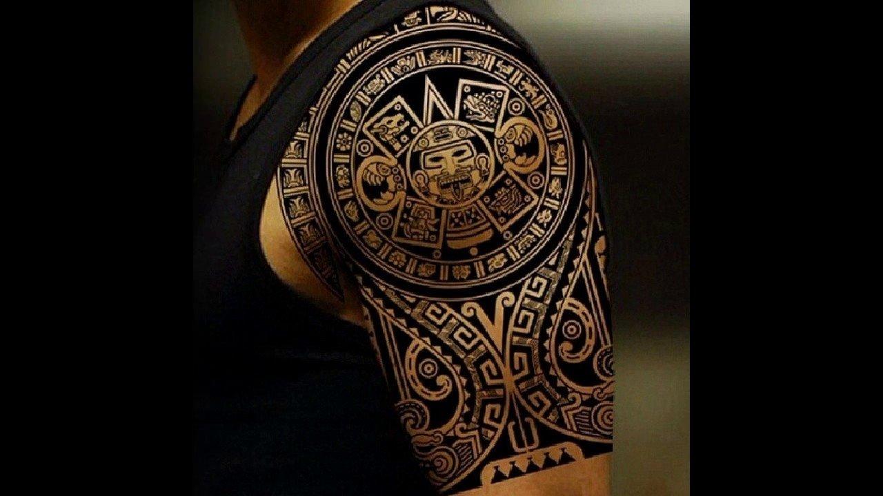 10 Stunning Mens Tattoo Ideas For Shoulder tattoo ideas for guy chest arm shoulder tattoos youtube 3 2020