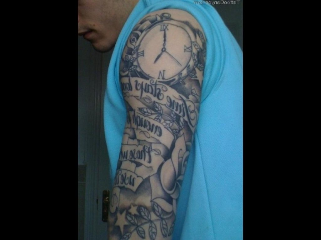 10 Lovely Tattoo Sleeve Ideas For Men Black And Grey tattoo sleeve ideas black and grey tattoo sleeve ideas for black men 2 2021