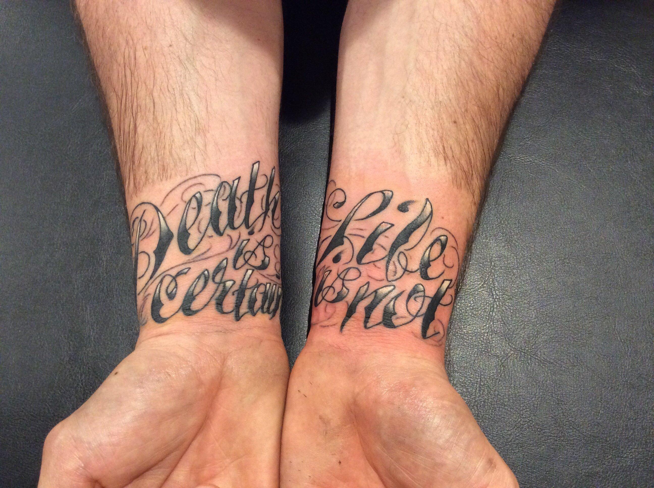 tattoojojo miller, dynamic ink, eternal ink, tattoo placement