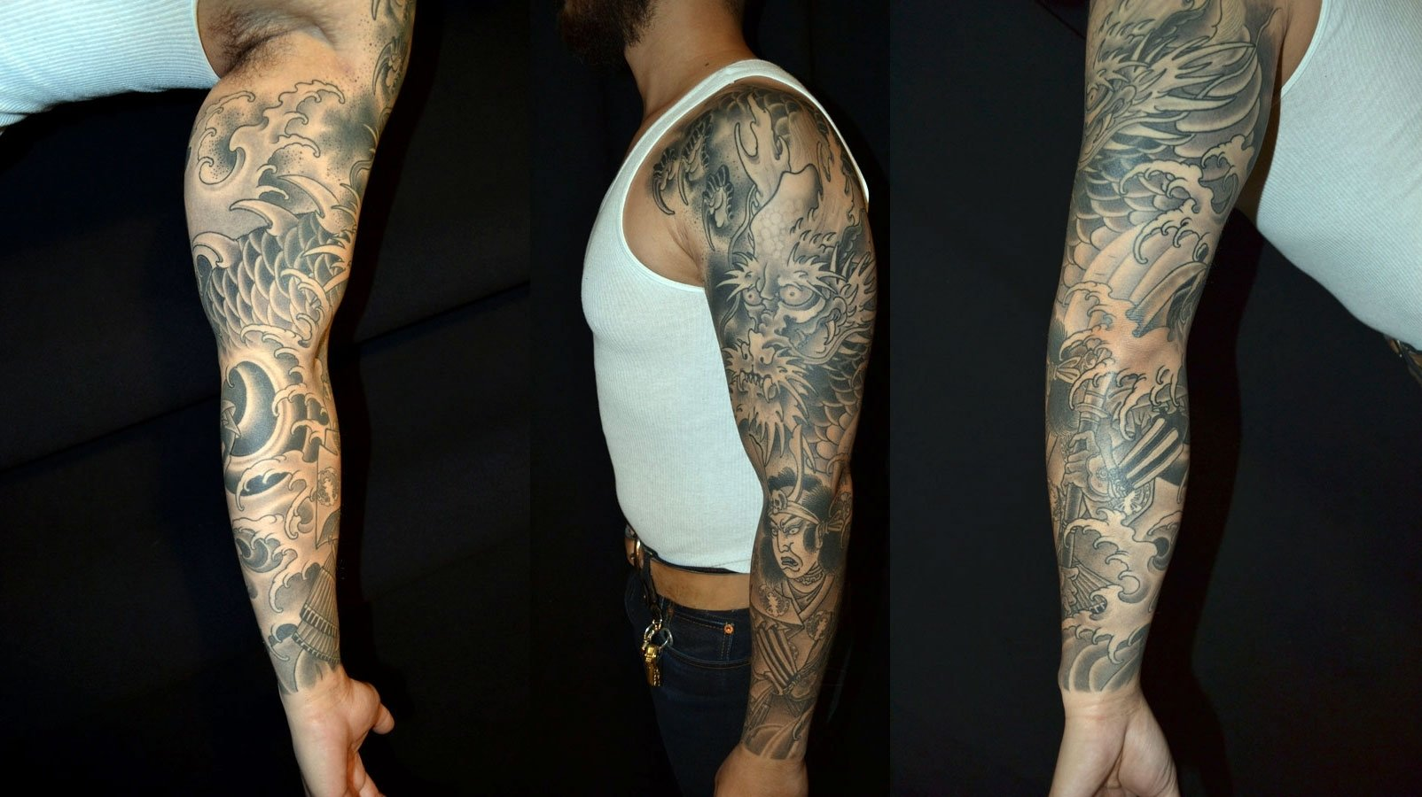 10 Cute Tattoos Sleeves Ideas For Black Guys tattoos sleeves ideas for black guys cool tattoos bonbaden 2020