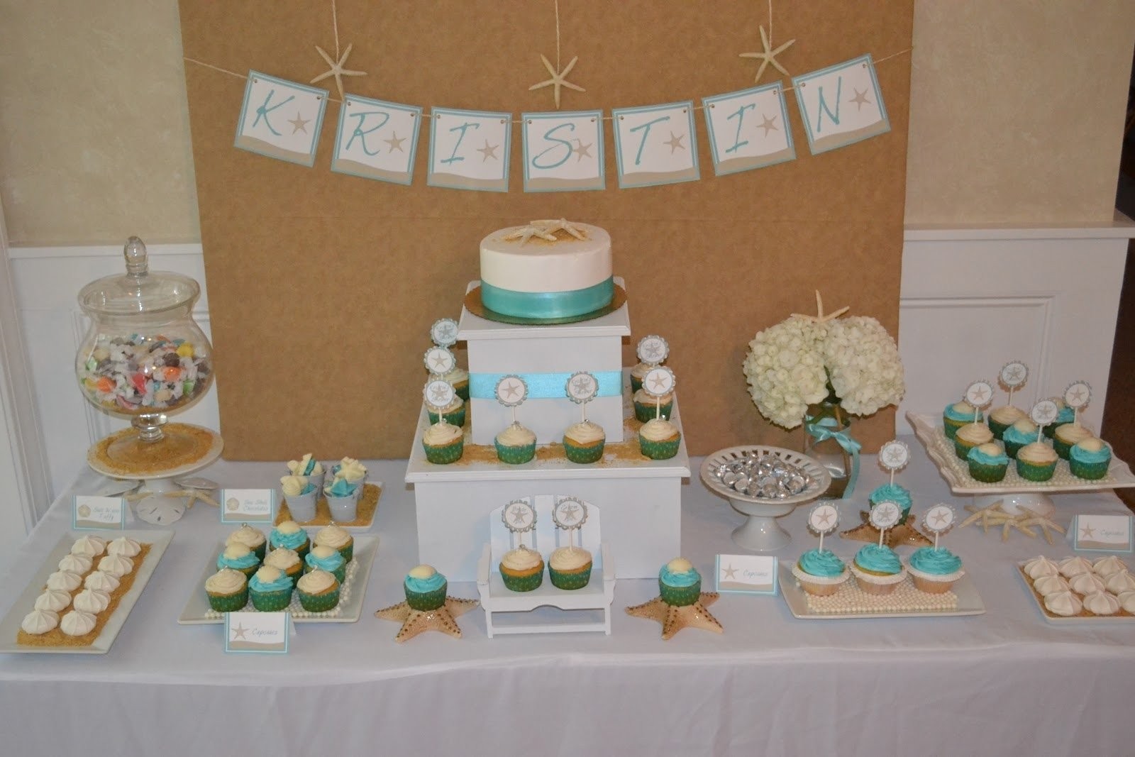 10 Most Popular Beach Themed Bridal Shower Ideas tbdress blog ideas for beach themed wedding shower 1 2020