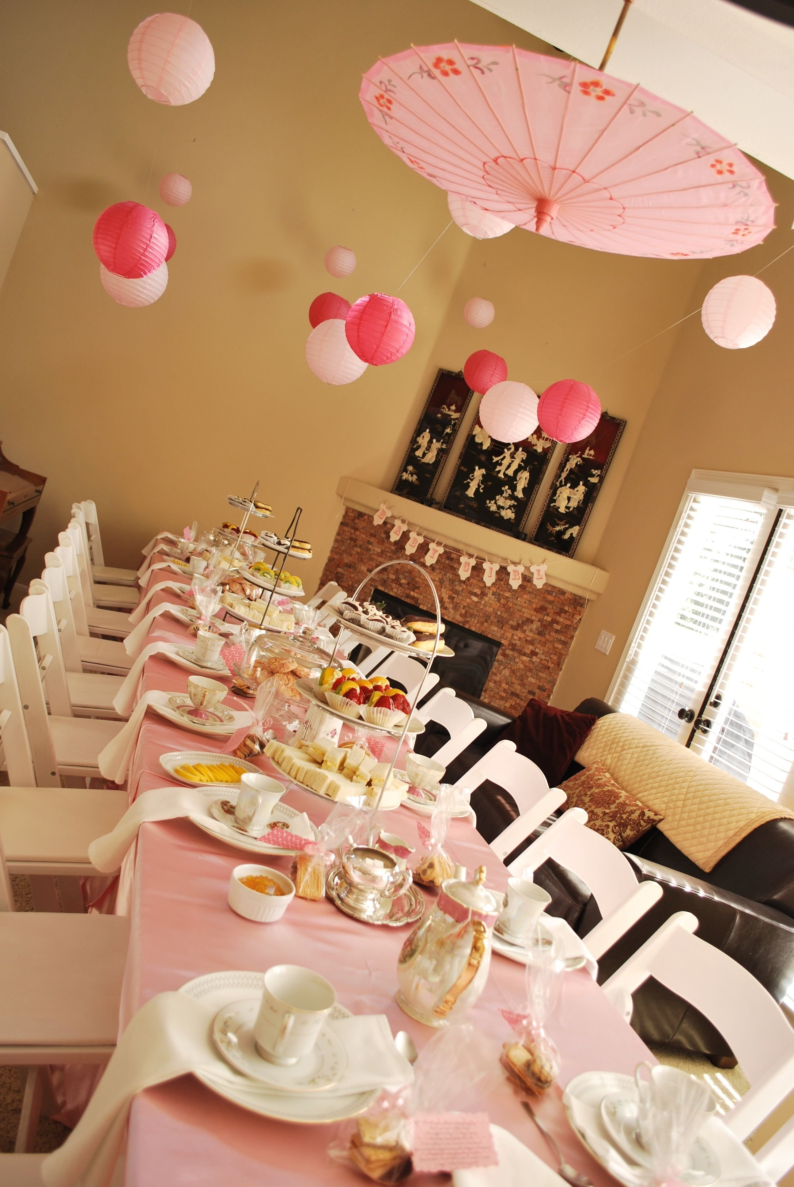 10 Wonderful Baby Shower Tea Party Ideas tea party baby showernot sure abt the asian umbrella but a 1 2020