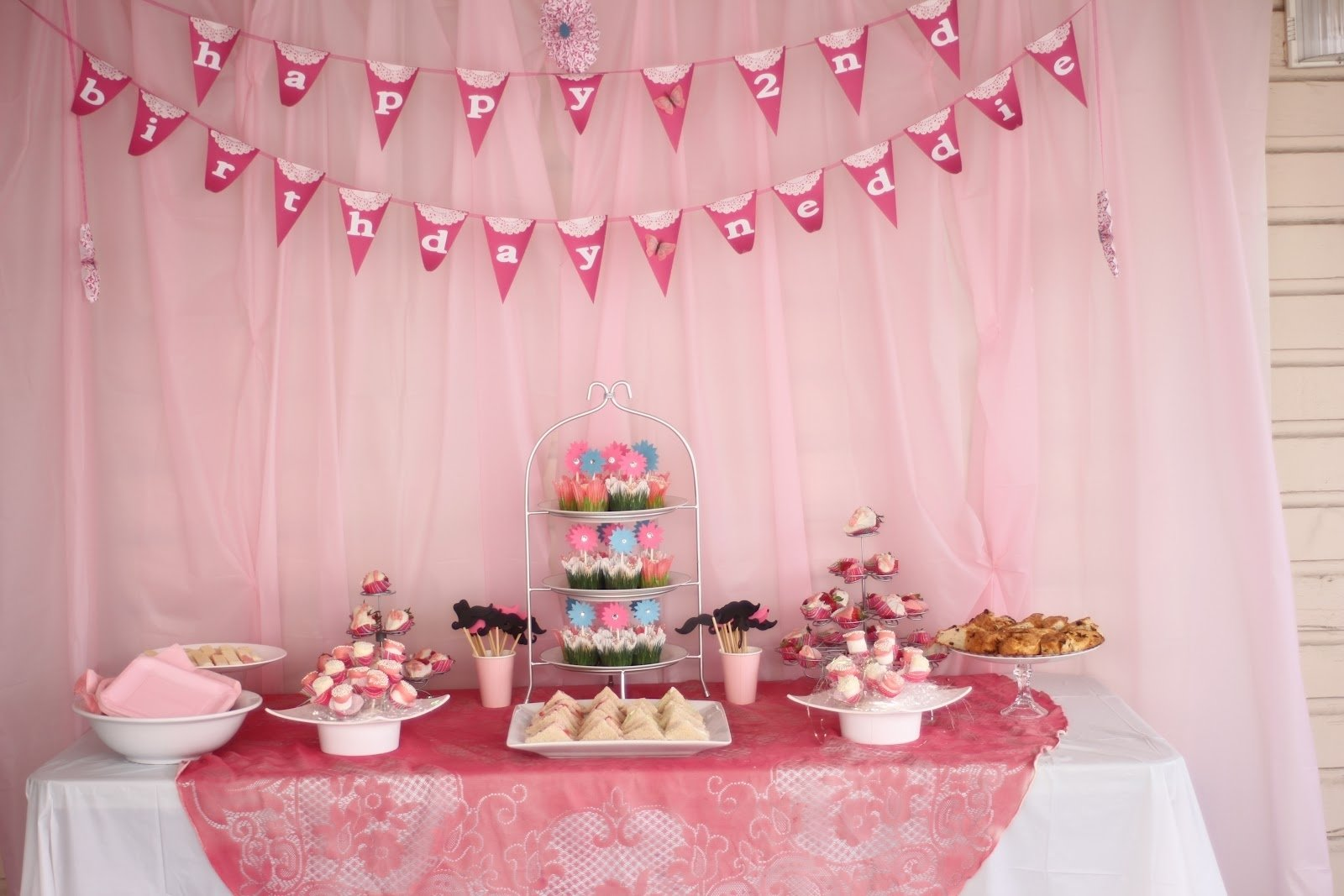 10 Lovable 4 Yr Old Girl Birthday Party Ideas tea party for 2 year old birthday delicate construction 2020