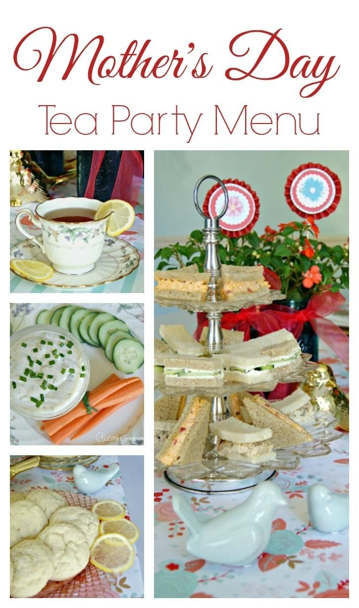 10 Unique Mothers Day Brunch Menu Ideas tea party menu for a mothers day luncheon tea party menu tea 2021