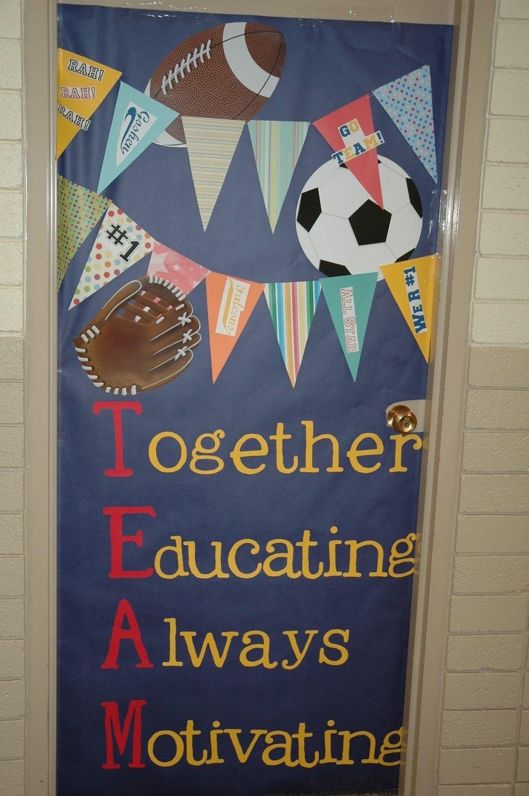teacher appreciation door decorating ideas | pta, appreciation and