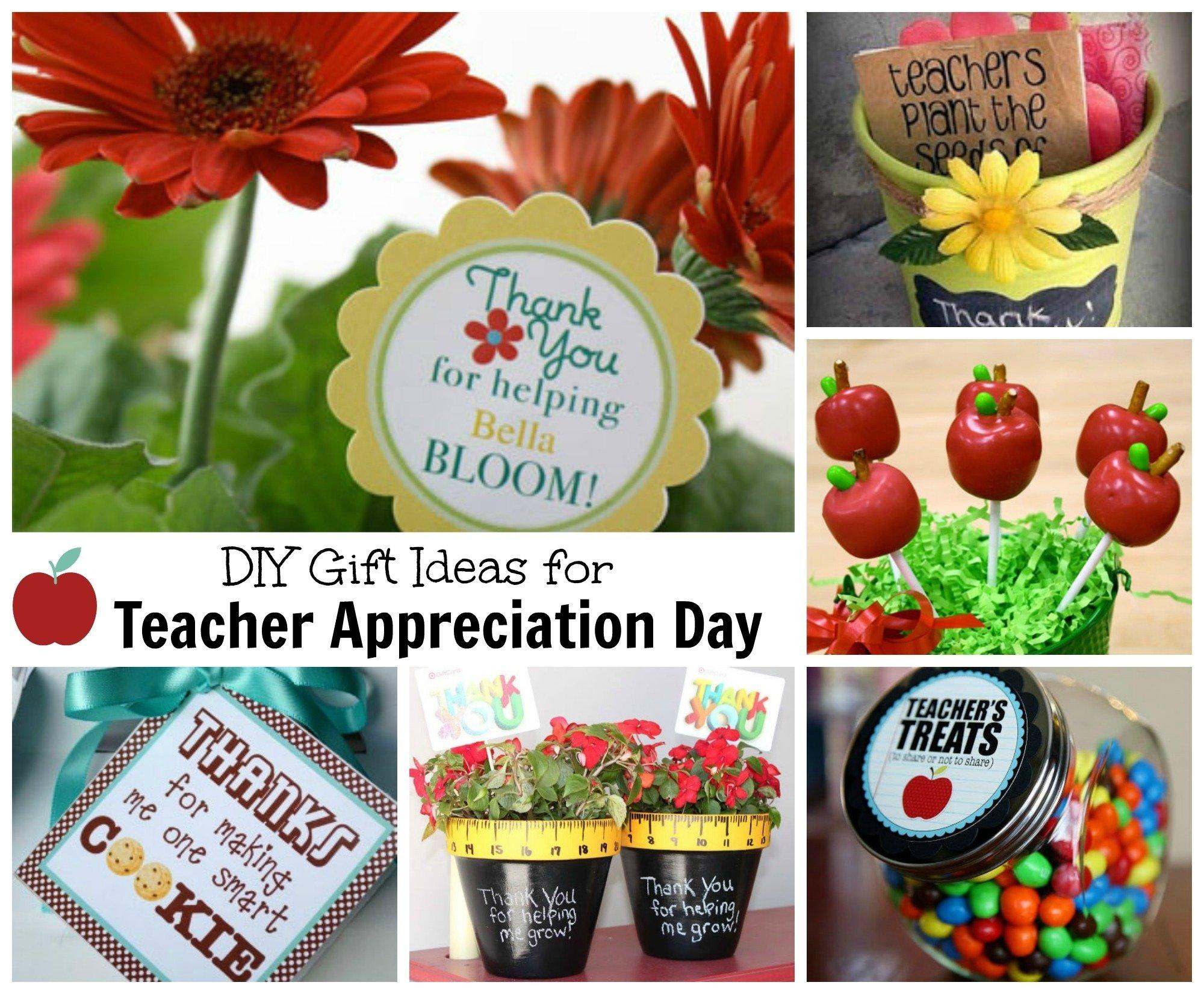 teacher appreciation gift ideas | celebrating holidays