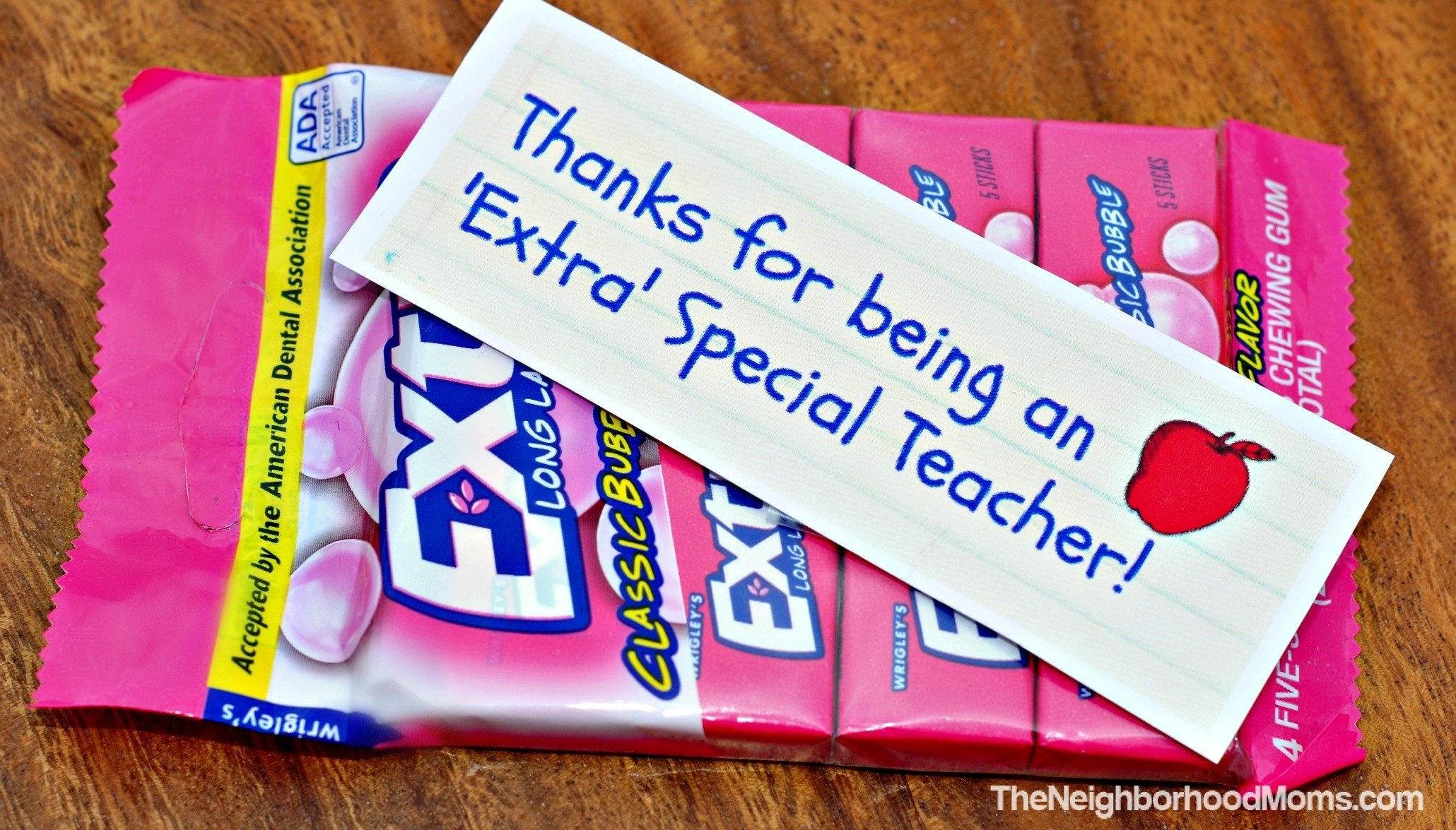 10 Attractive Teacher Appreciation Gift Ideas With Candy teacher appreciation gift ideas with printables the neighborhood moms 2