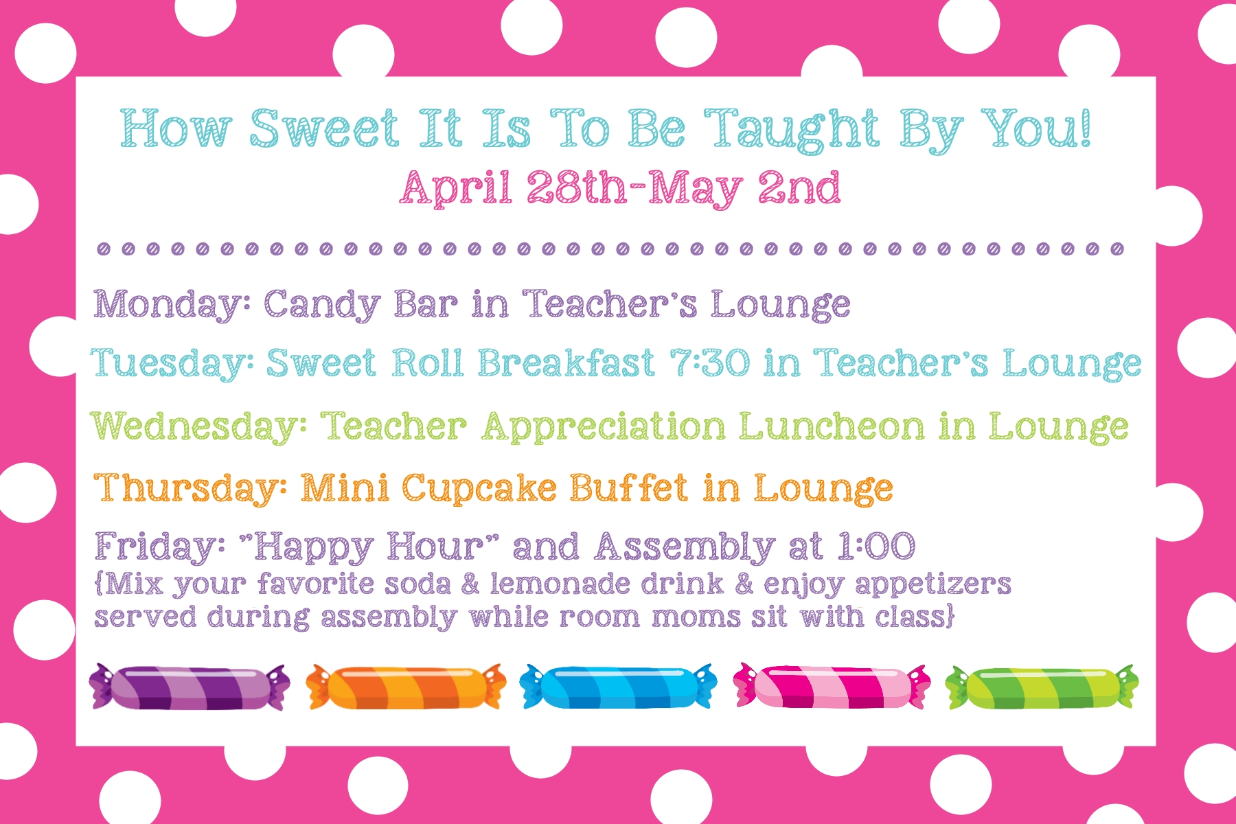 10 Gorgeous Teacher Appreciation Week Theme Ideas teacher appreciation ideas gifts doors themes more crazy