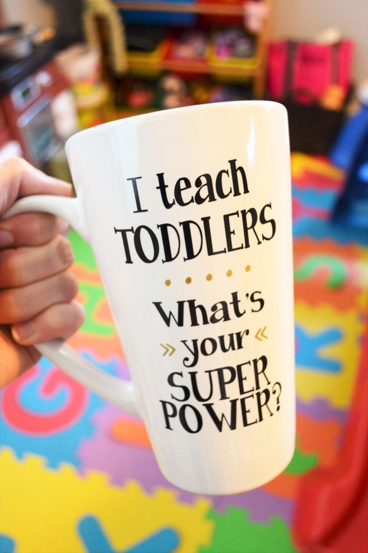 10 Pretty Daycare Teacher Appreciation Gift Ideas teacher coffee mug preschool teacher gift day care teacher 2020