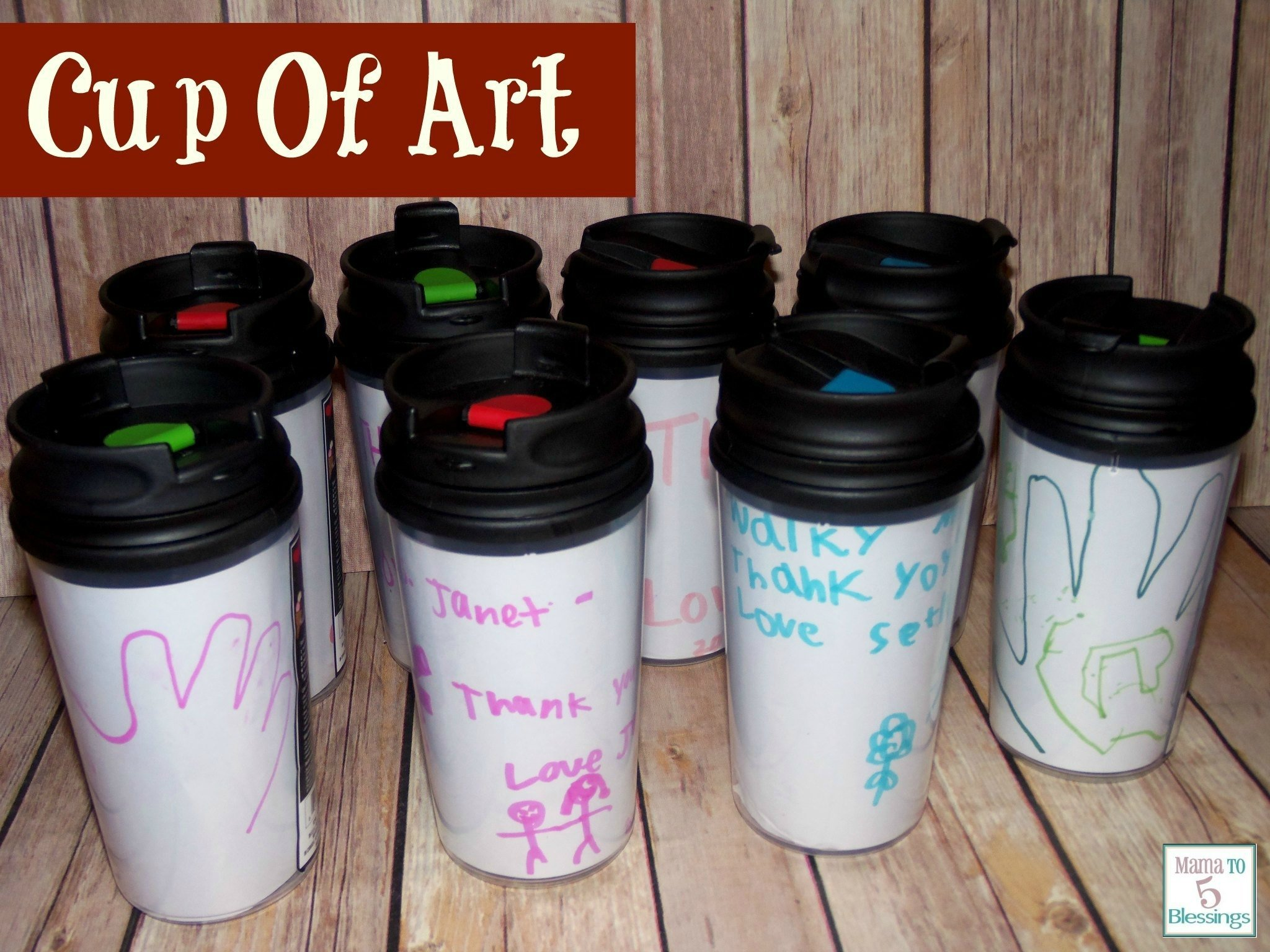 10 Spectacular Thank You Ideas For Teachers teacher thank you gift cup of art learn link with linky mama 2020