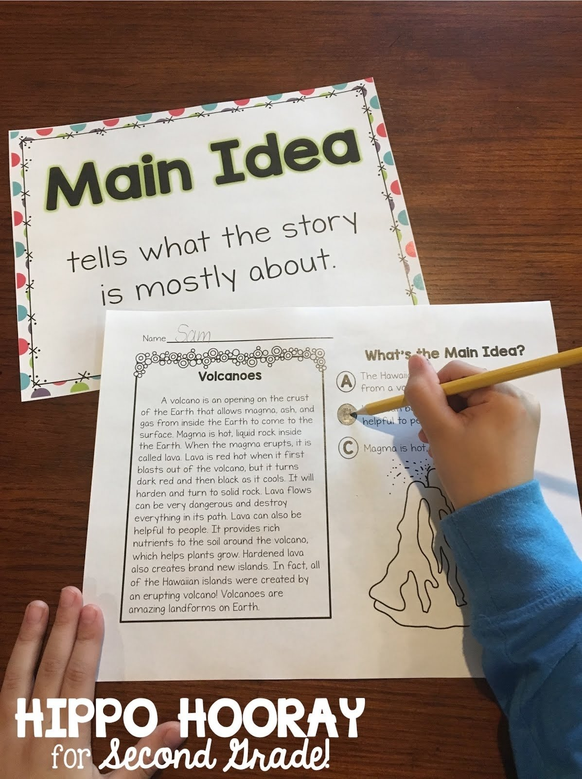 10 Elegant How To Find The Main Idea Of A Story teaching main idea in nonfiction texts hippo hooray for second grade 1 2020