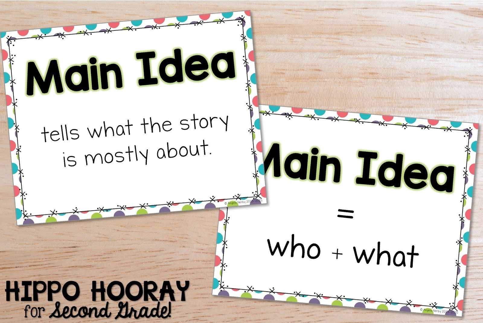 10 Elegant How To Find The Main Idea Of A Story teaching main idea in nonfiction texts hippo hooray for second grade 2020