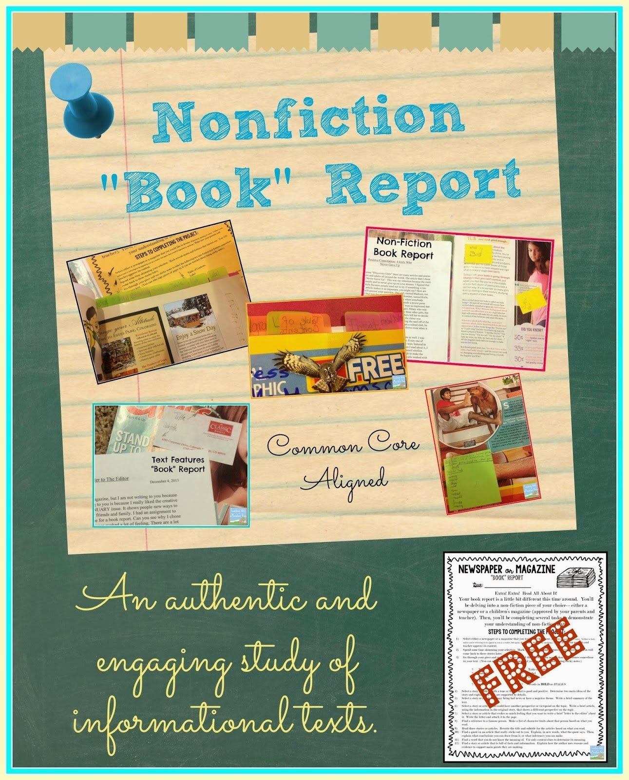 10 Trendy Non Fiction Book Report Ideas teaching with a mountain view non fiction newspaper or magazine 2021