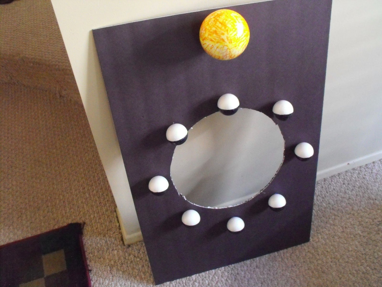10 Attractive Phases Of The Moon Project Ideas teachingisagift saw it on pinterestbought it at dollar tree 2020