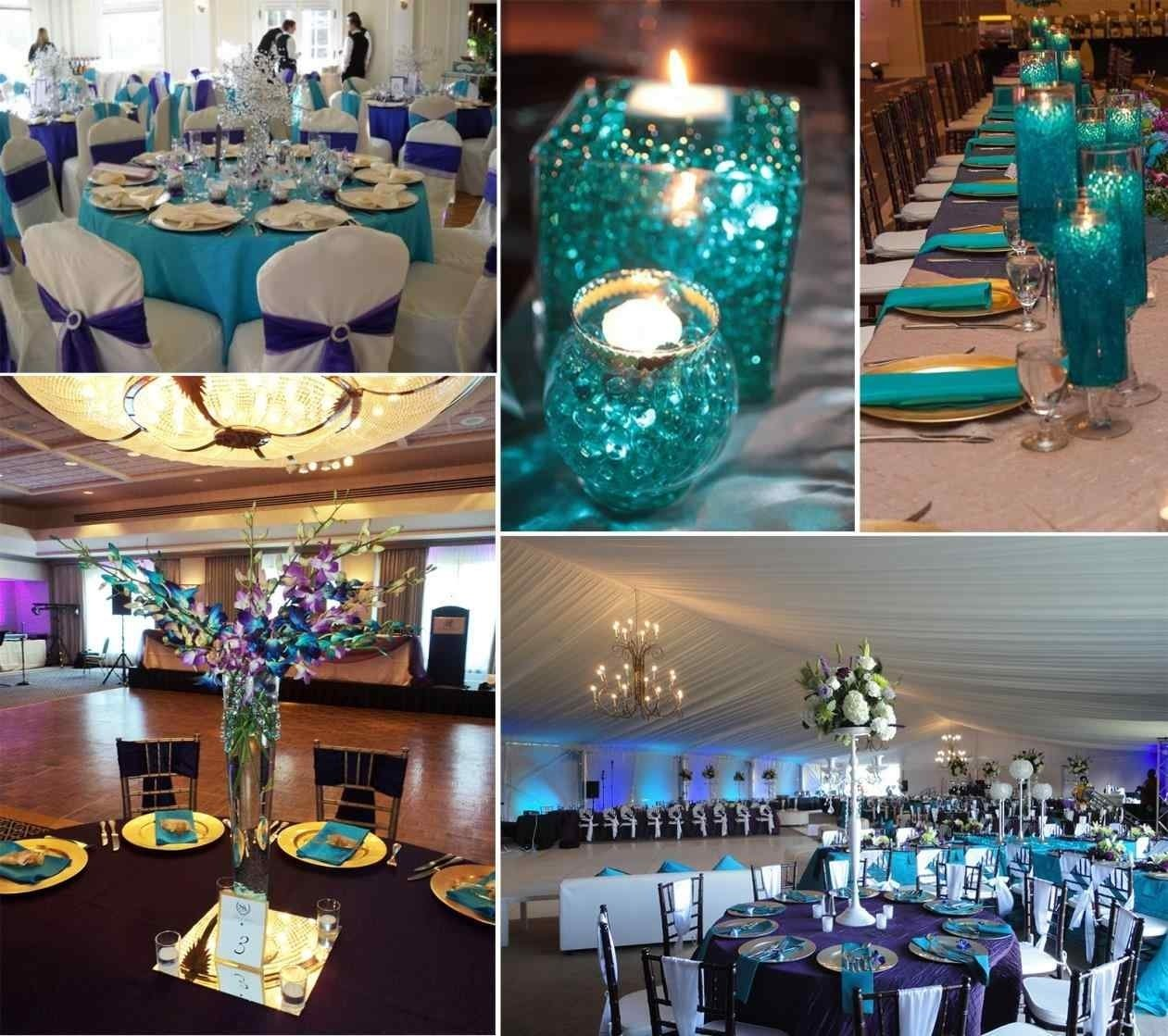 10 Pretty Teal And Purple Wedding Ideas teal and purple wedding decorations image collections wedding 2020