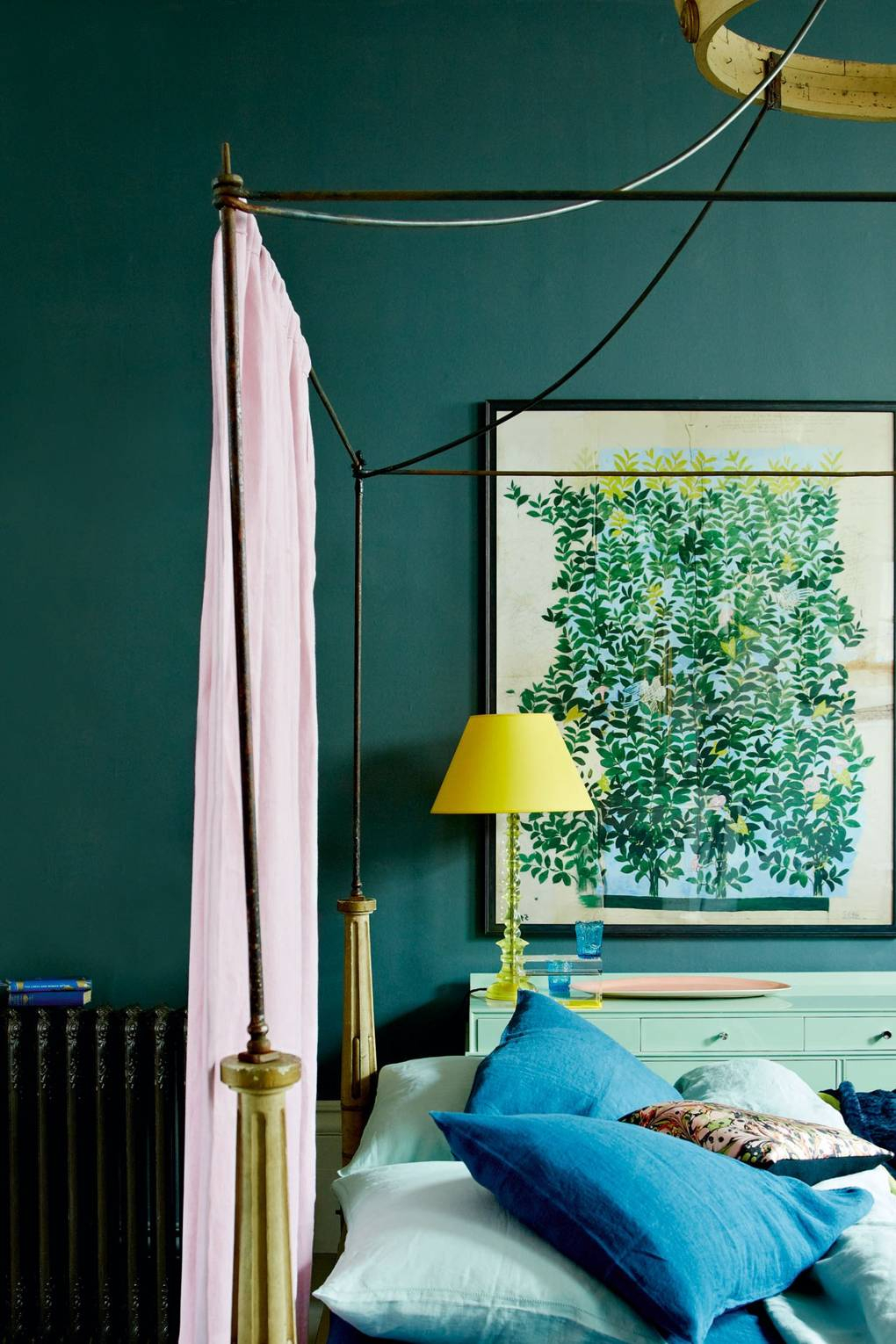 10 Stylish Green And Blue Room Ideas teal blue bedroom wall paint colour ideas house garden