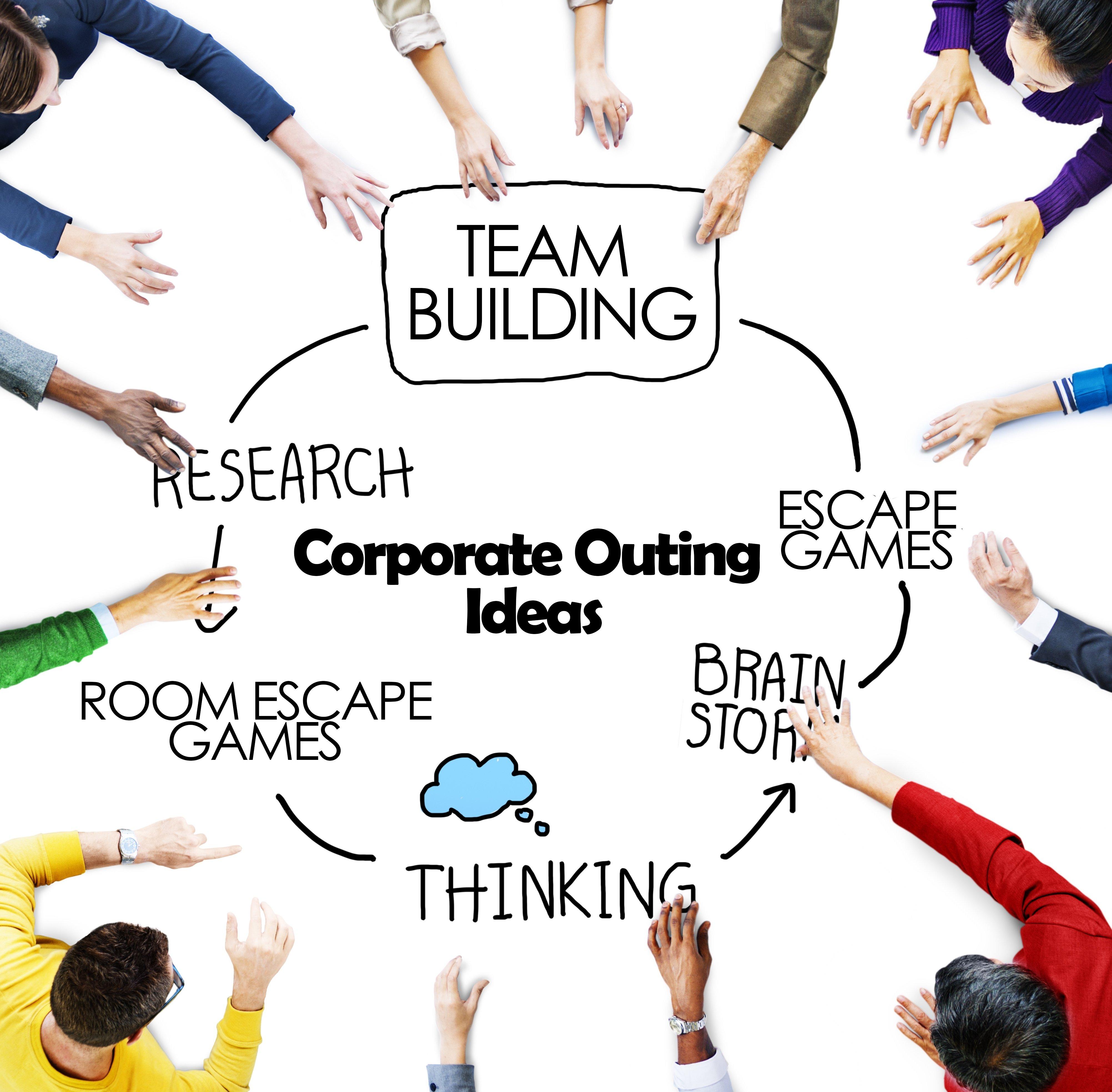 10 Stylish Corporate Team Building Activities Ideas team building activities and fun corporate outing ideas escapegames