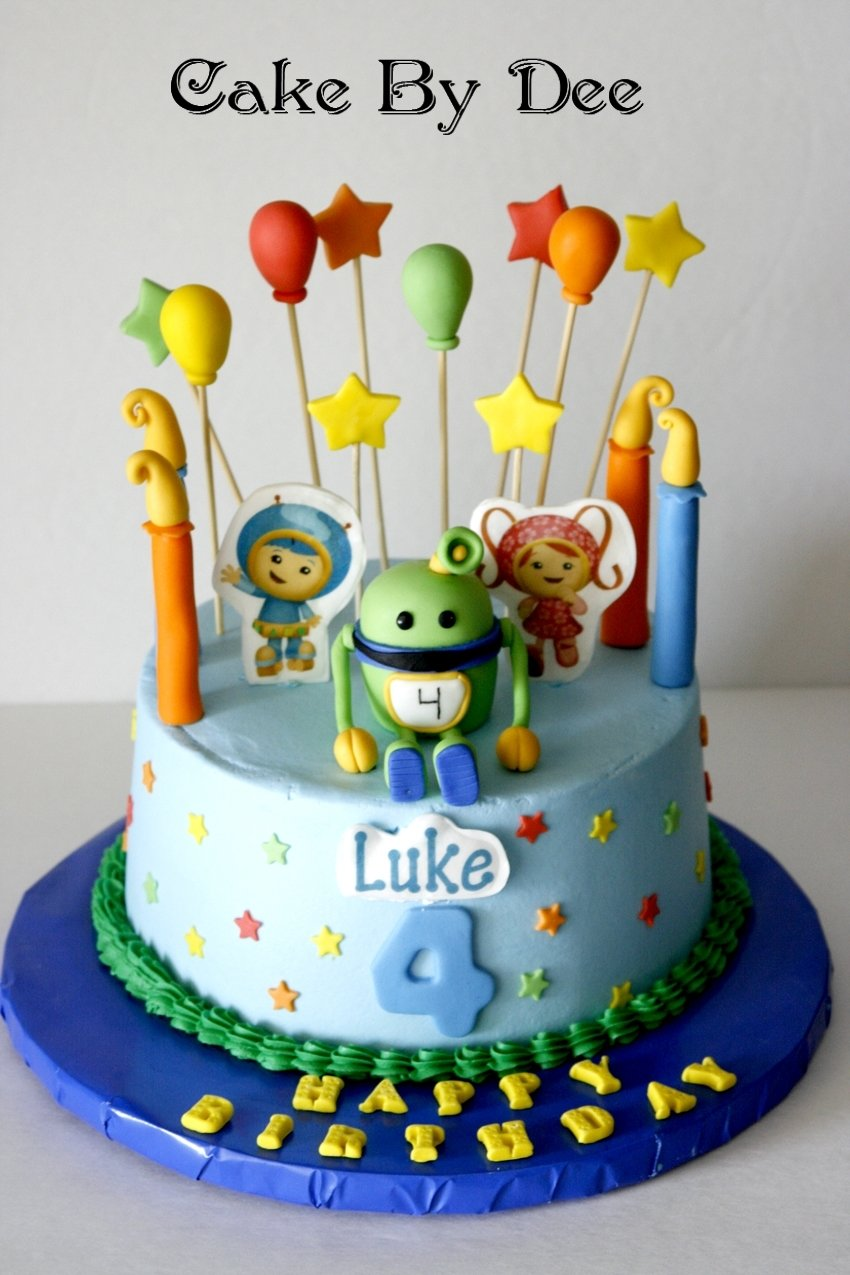 10 Most Popular Team Umizoomi Birthday Party Ideas Cake Kids