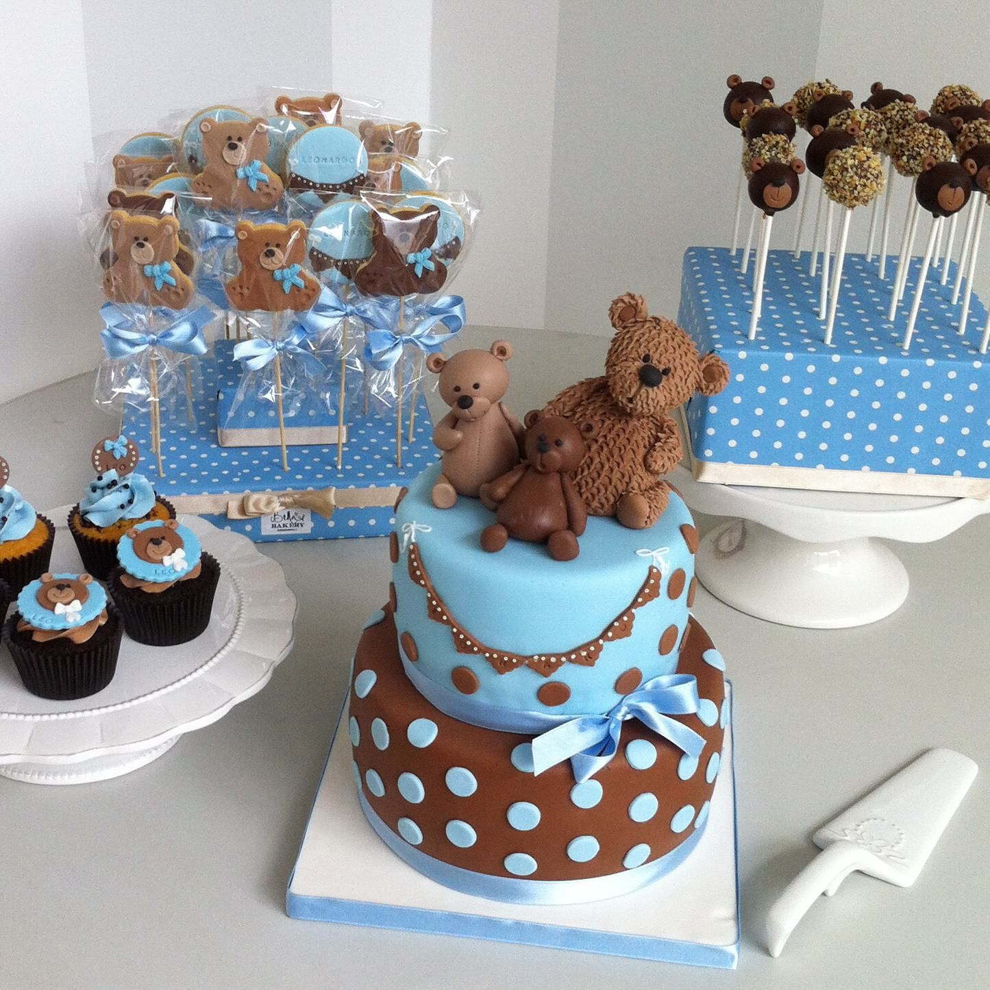 10 Beautiful Blue And White Baby Shower Ideas teddy bear blue white and grey silver with the milkaholic theme 2020