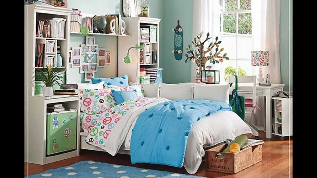 10 Perfect Rooms For Teenage Girls Ideas teen bedroom ideas designs for girls youtube 1 2020