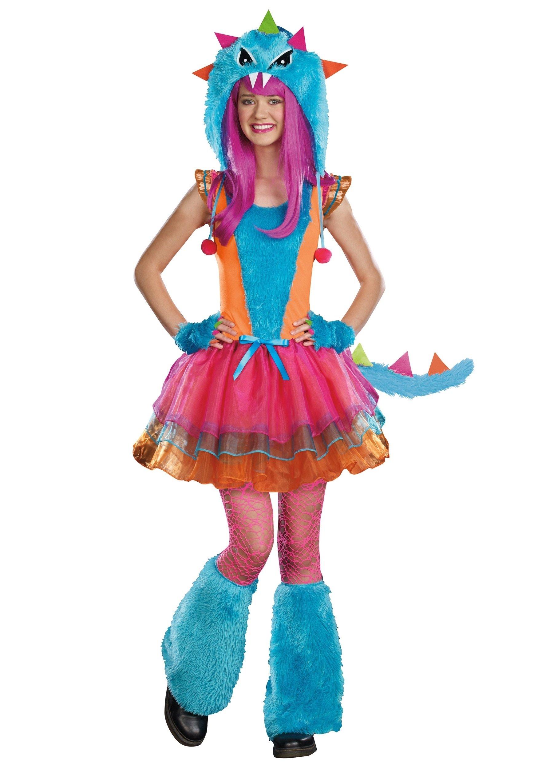 10 Beautiful Cute Costume Ideas For Girls teen ferocious monster costume 2021