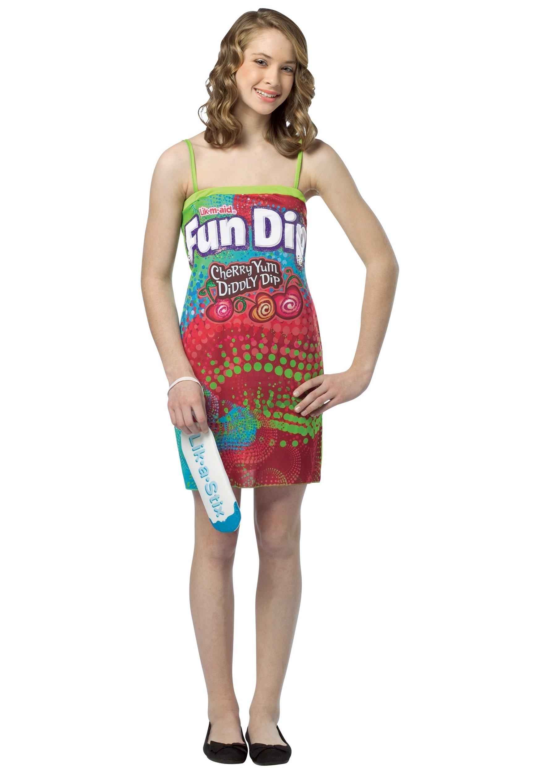 10 Nice Halloween Costume Ideas For Teenage Girls teen fun dip dress halloween pinterest teen fun fun dip and 12 2021
