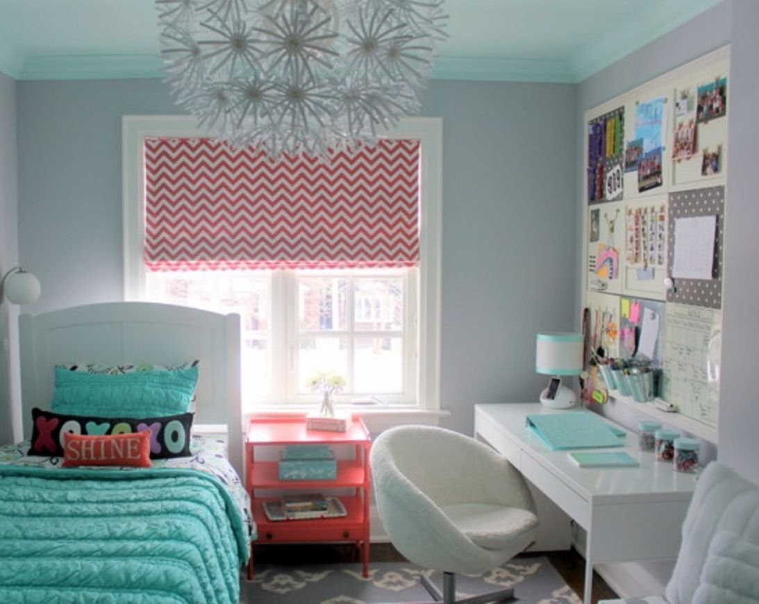10 Pretty Teenage Bedroom Ideas For Small Rooms