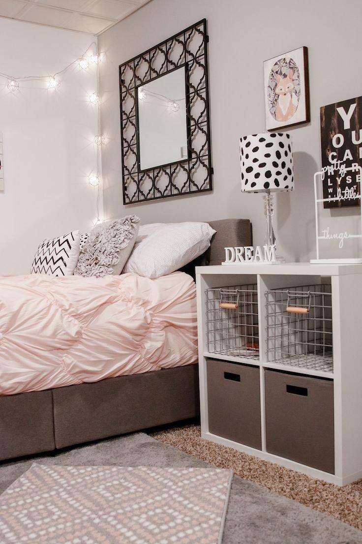10 Fashionable Cute Bedroom Ideas For Teenage Girls teen girl bedroom ideas and decor bedroom pinterest teen 2 2020